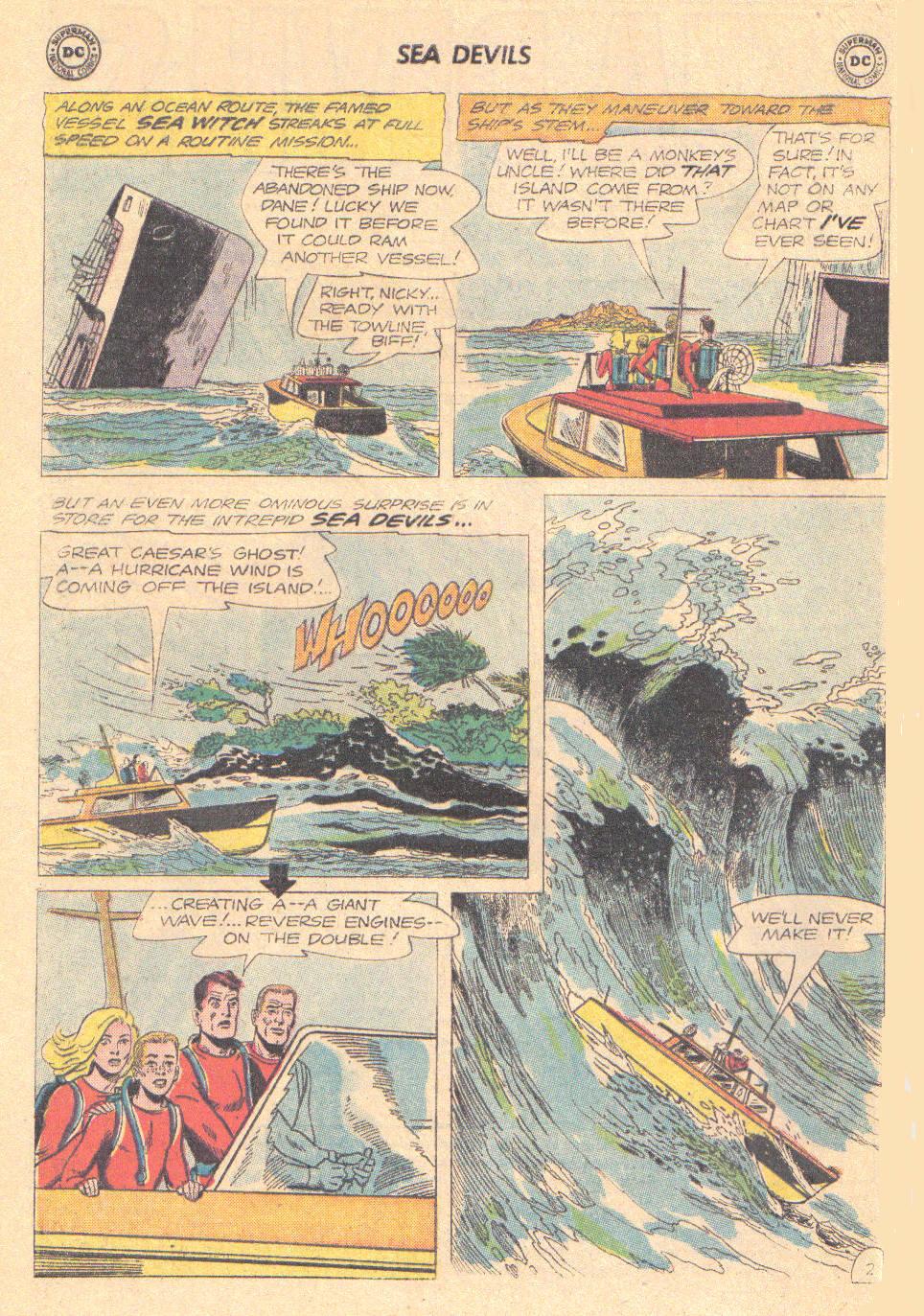 Read online Sea Devils comic -  Issue #16 - 4
