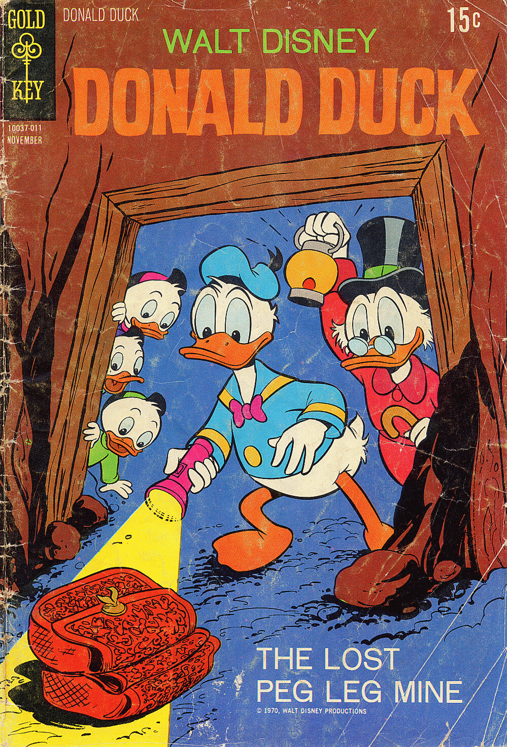 Walt Disney's Donald Duck (1952) issue 134 - Page 1