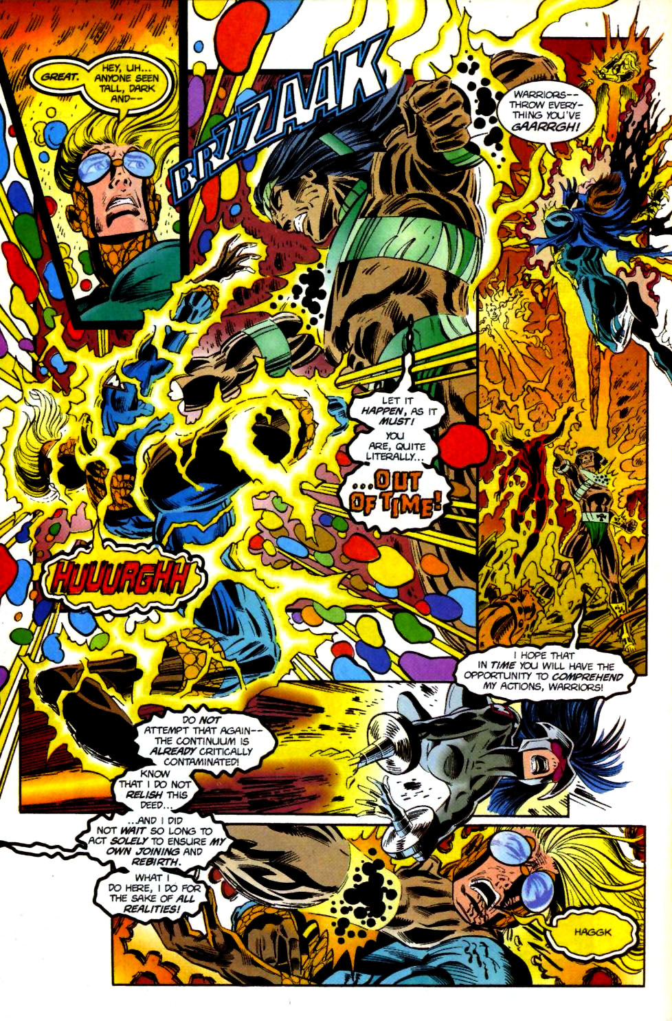 The New Warriors Issue #69 #73 - English 17