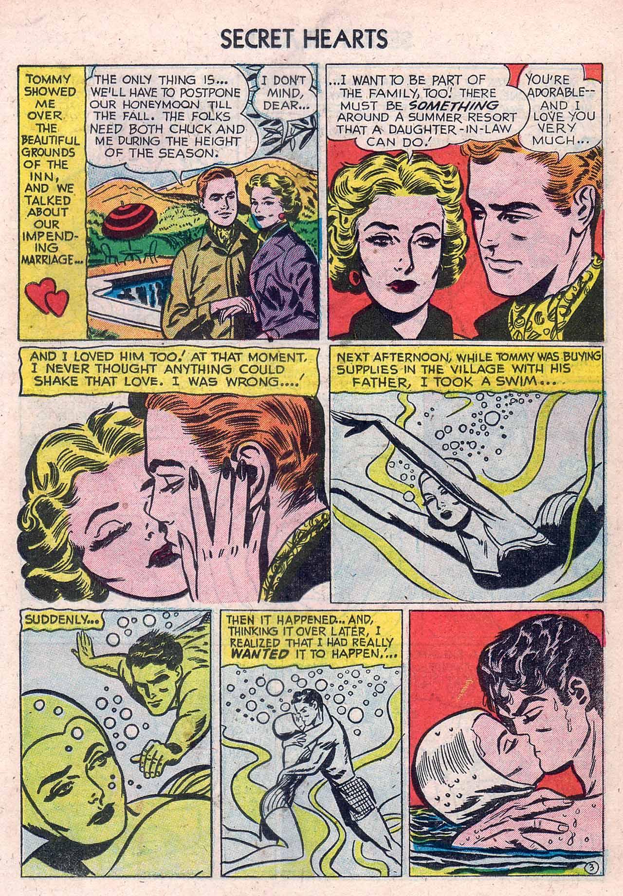 Read online Secret Hearts comic -  Issue #12 - 19