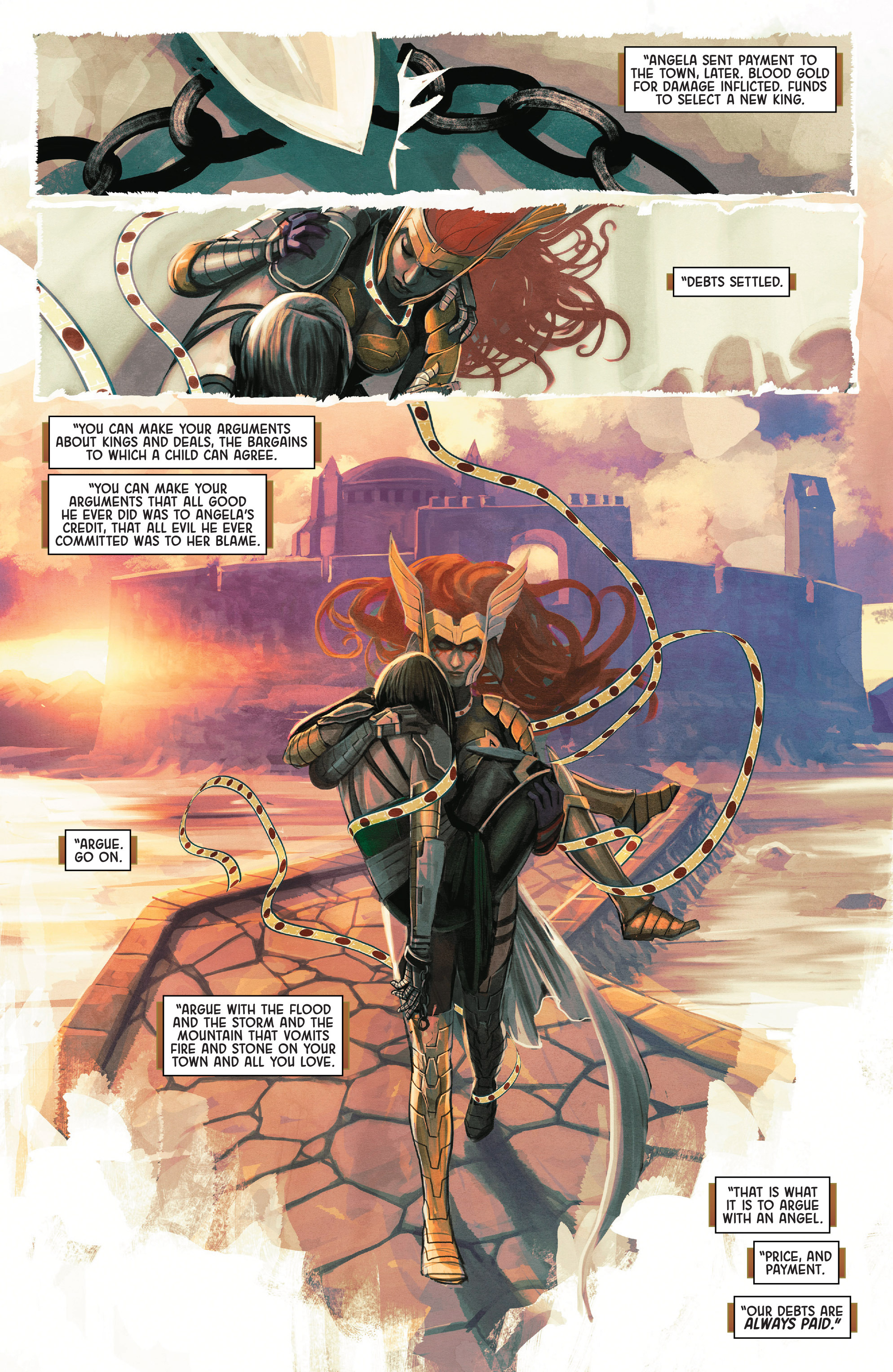 Read online Angela: Asgard's Assassin comic -  Issue #1 - 17