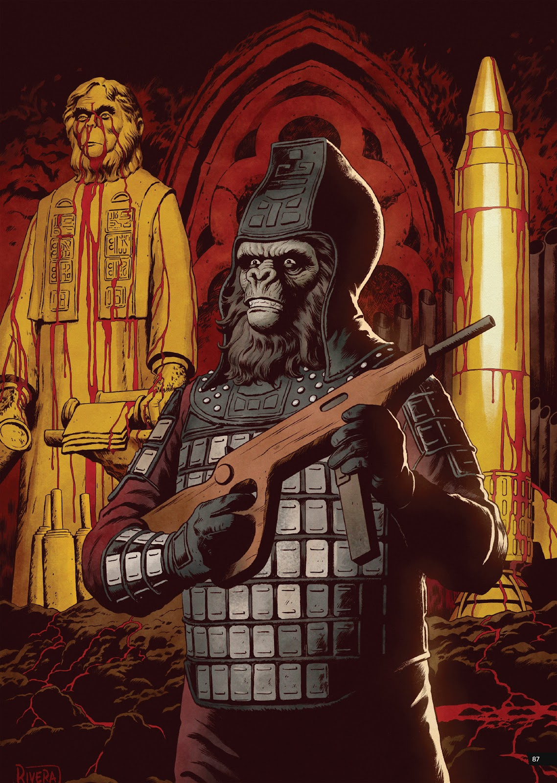 Read online Planet of the Apes Artist Tribute comic -  Issue # TPB - 87