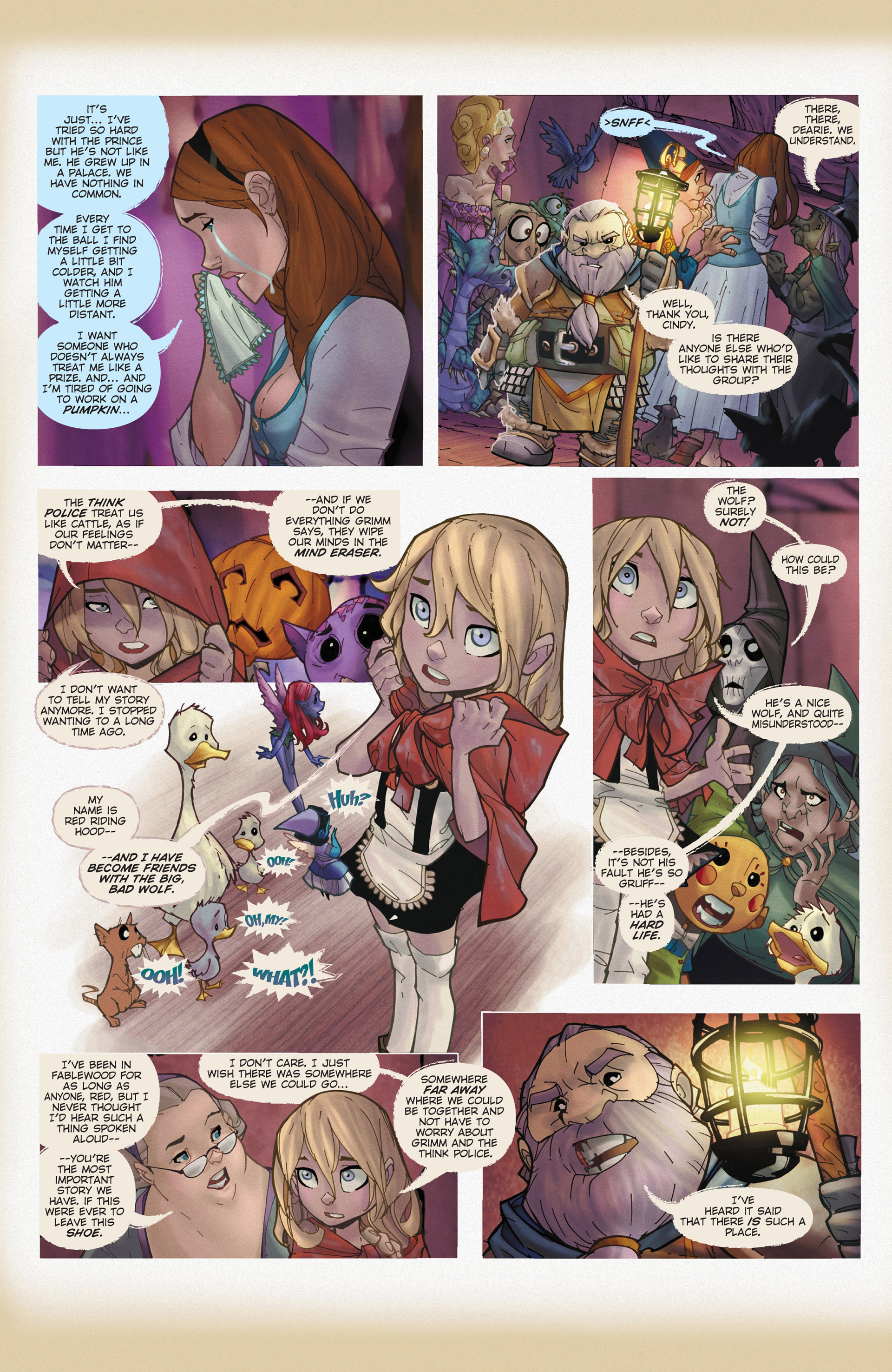 Read online Fairy Quest: Outlaws comic -  Issue #1 - 13