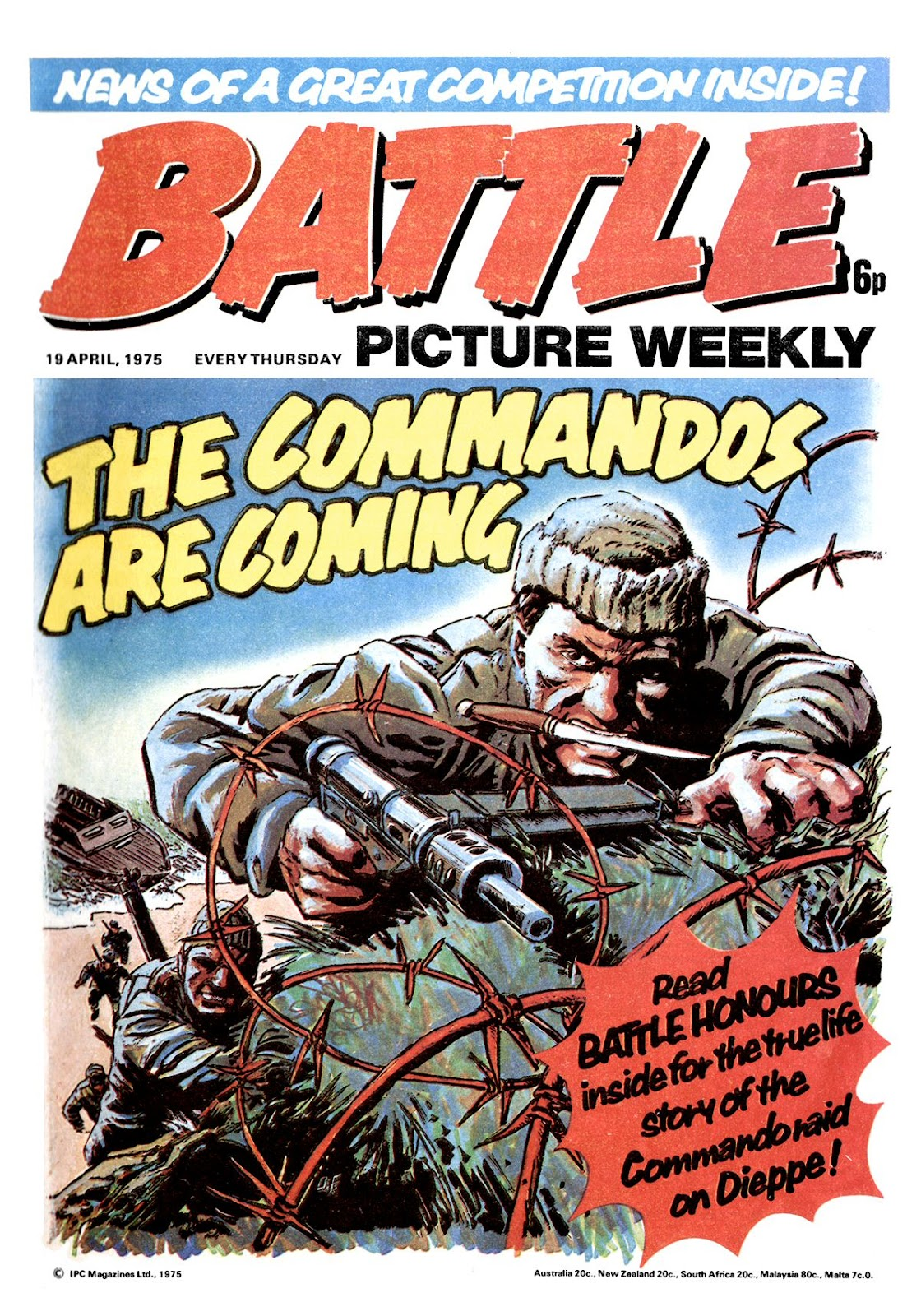 Battle Picture Weekly 7 Page 1