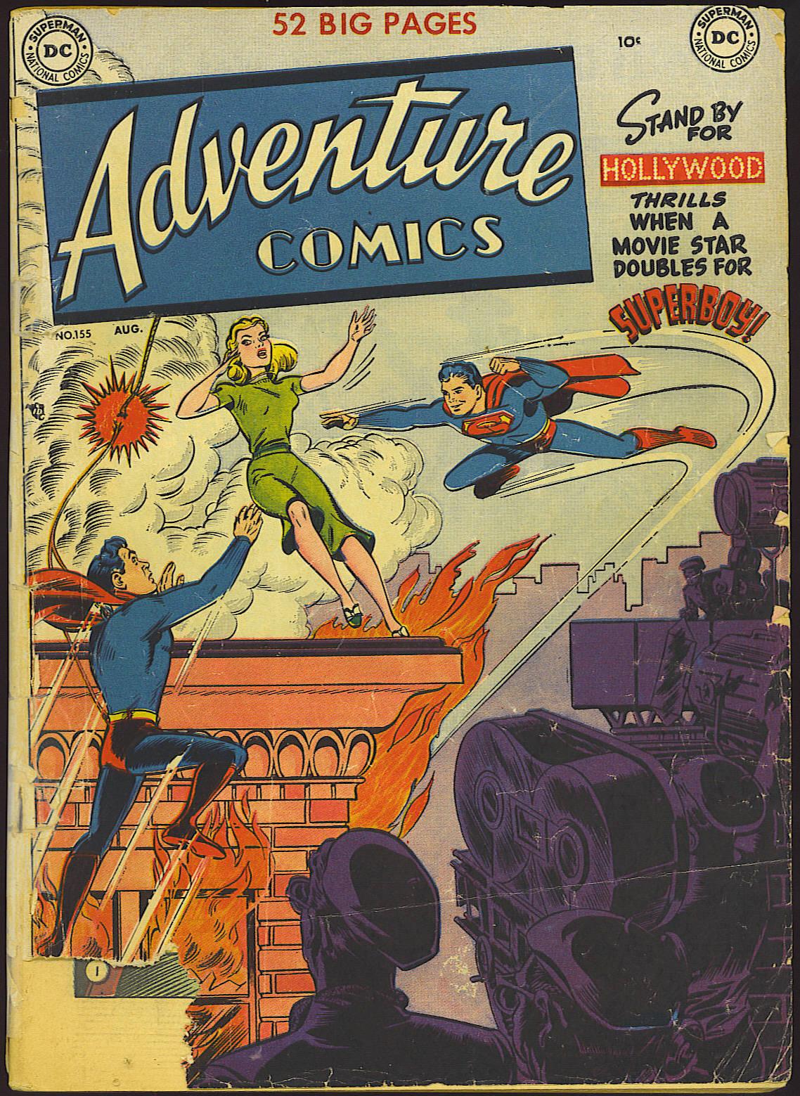 Read online Adventure Comics (1938) comic -  Issue #155 - 1