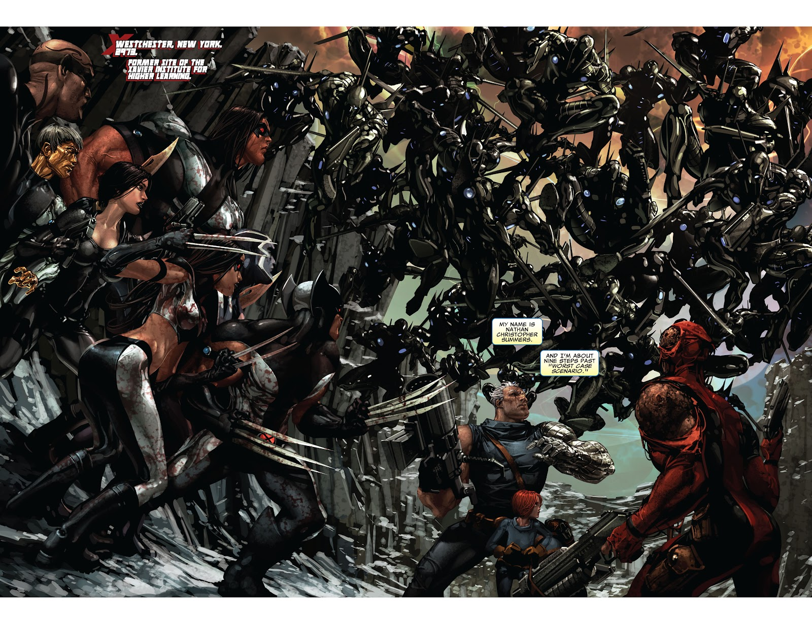 Read online X-Force/Cable: Messiah War comic -  Issue # _TPB (Part 2) - 19
