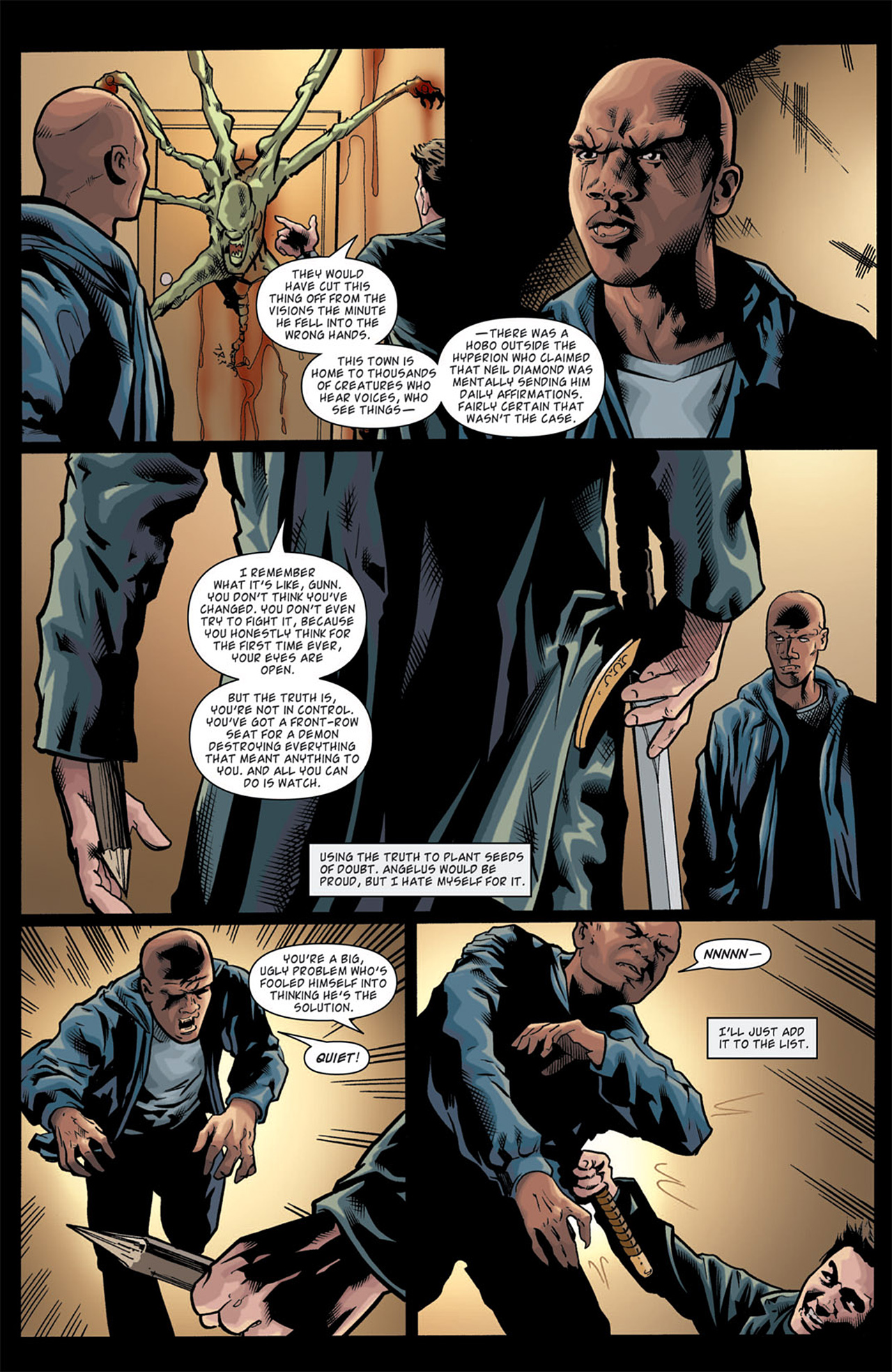 Read online Angel: After The Fall comic -  Issue #11 - 19