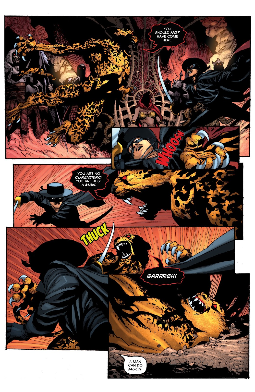 Read online Zorro: Swords of Hell comic -  Issue #4 - 10