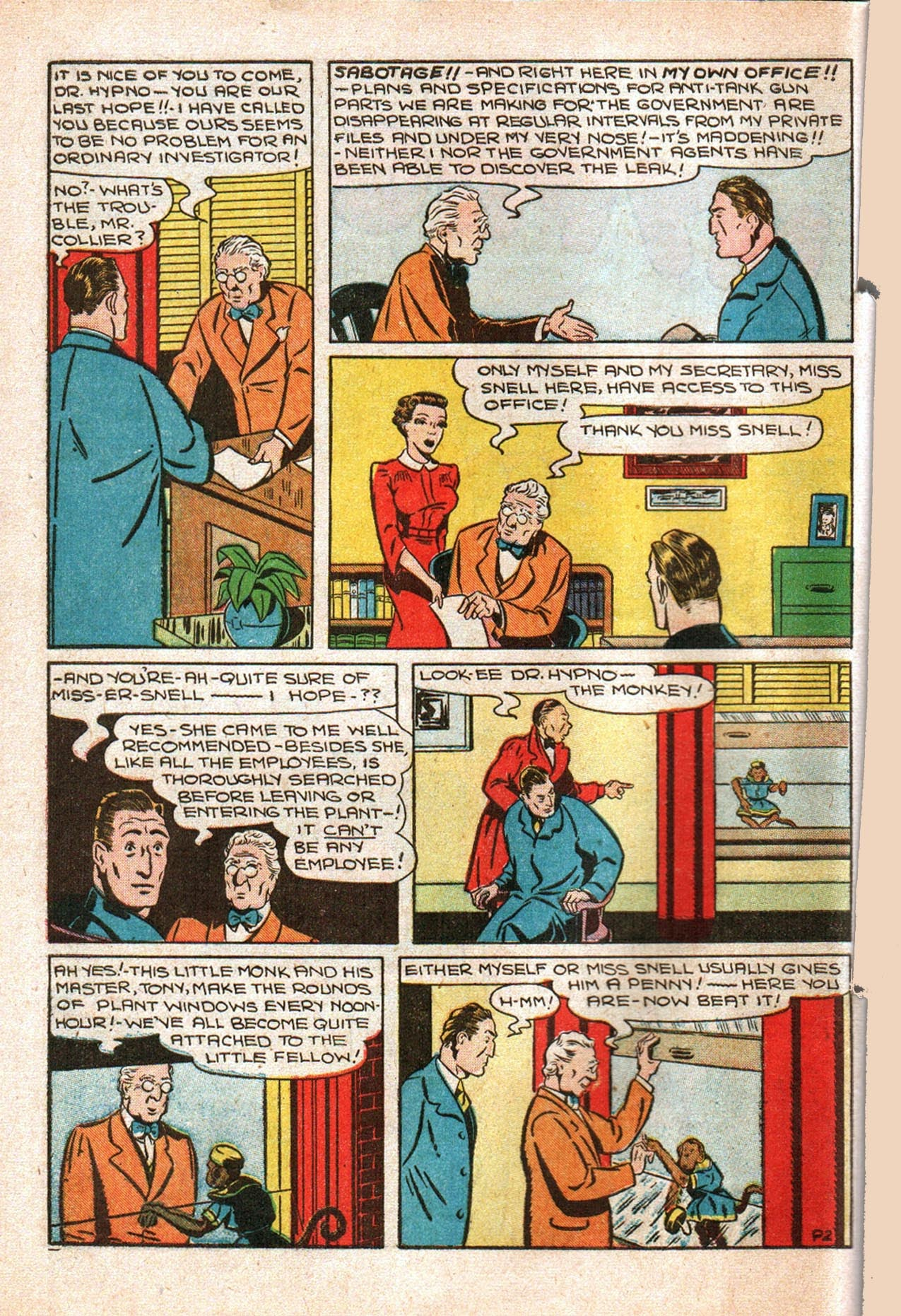 Read online Amazing Man Comics comic -  Issue #20 - 17