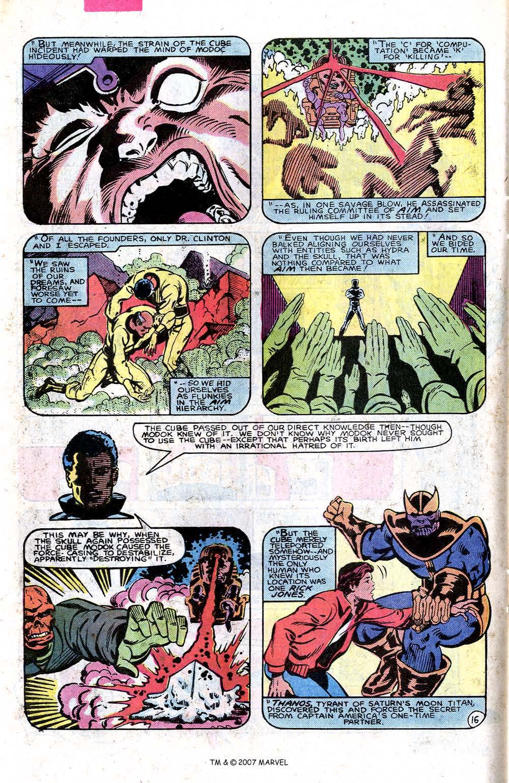 Read online Captain America (1968) comic -  Issue # _Annual 7 - 22