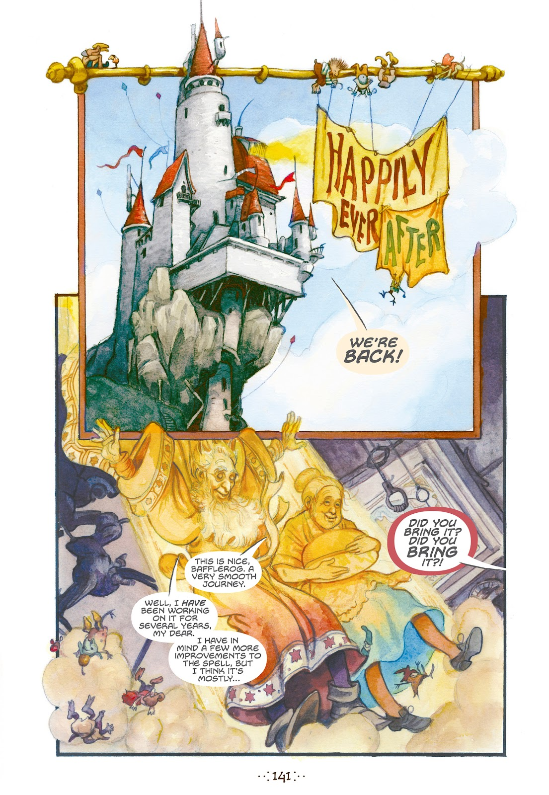 Read online The Wizard's Tale comic -  Issue # TPB - 134