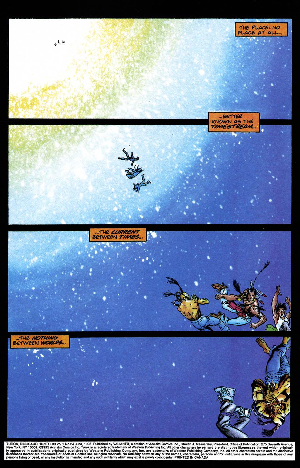 Read online Turok, Dinosaur Hunter (1993) comic -  Issue #24 - 2