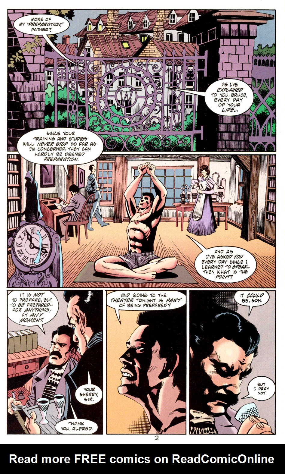 Read online Batman: Haunted Gotham comic -  Issue #1 - 4