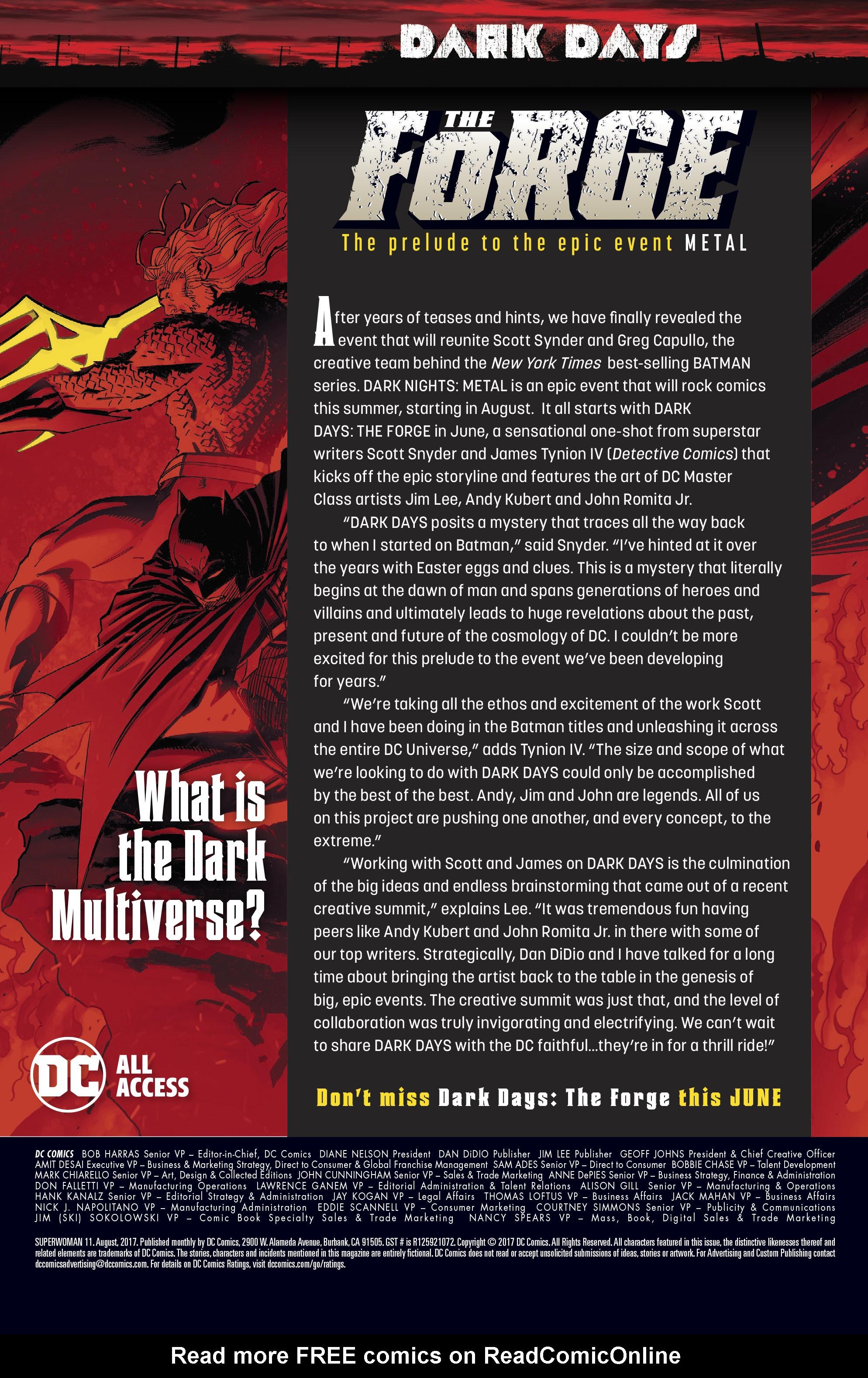 Read online Superwoman comic -  Issue #11 - 23