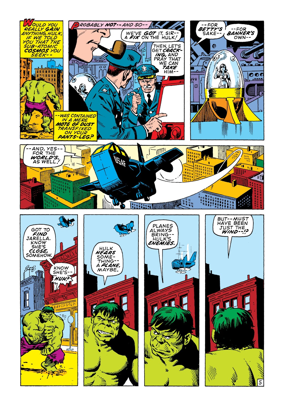 Read online Marvel Masterworks: The Incredible Hulk comic -  Issue # TPB 7 (Part 2) - 52
