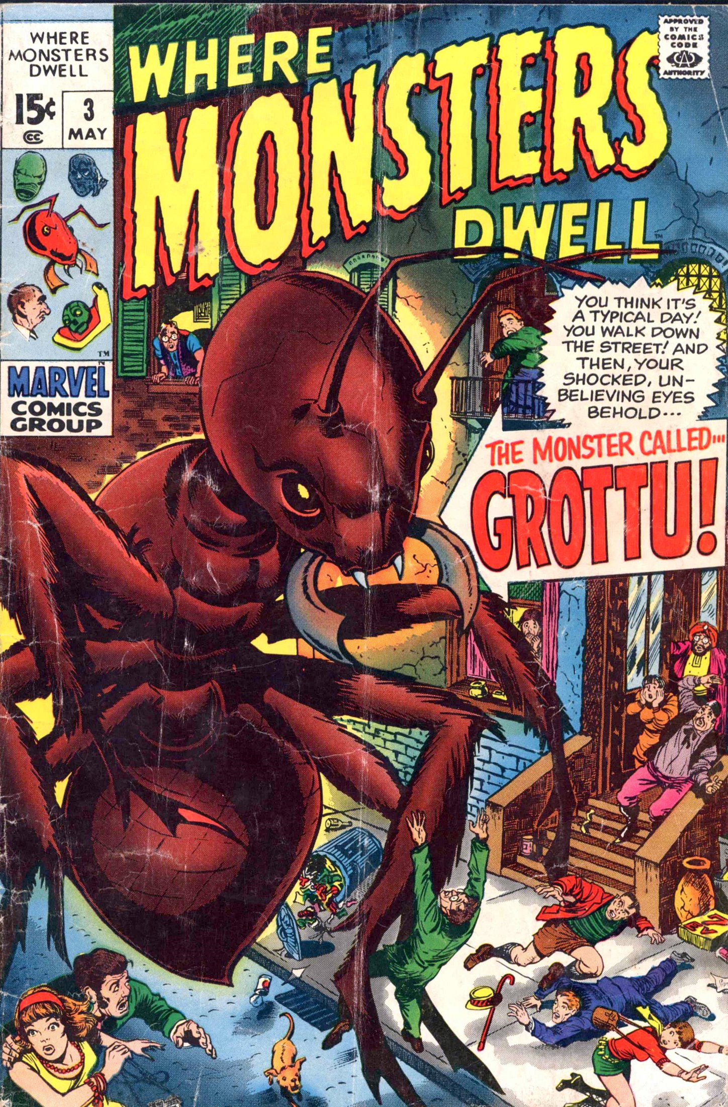 Where Monsters Dwell (1970) 3 Page 1