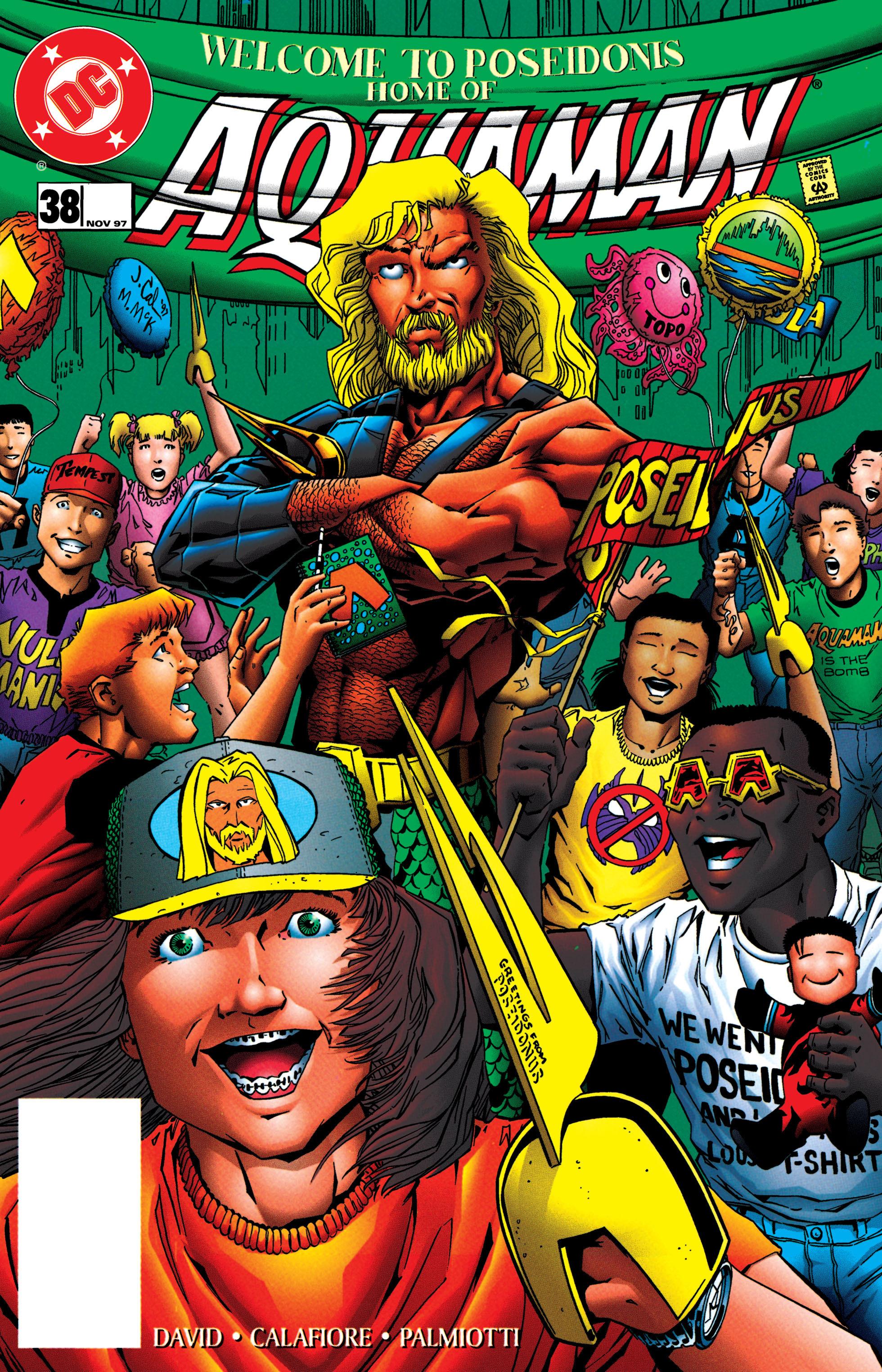 Read online Aquaman (1994) comic -  Issue #38 - 1