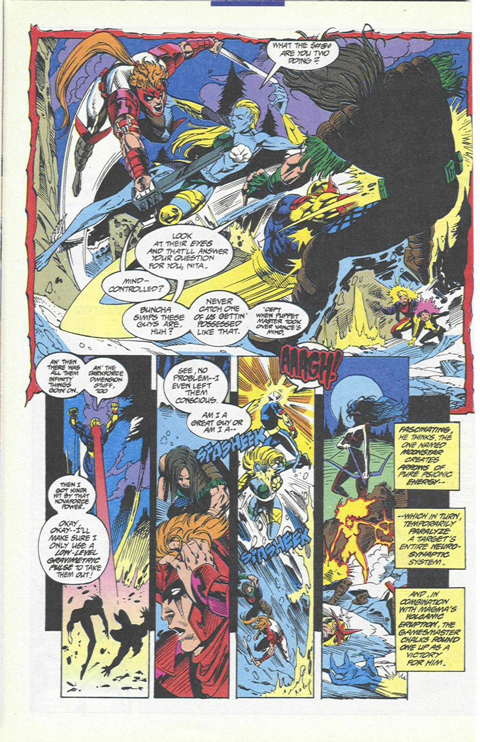 The New Warriors Issue #46 #50 - English 10