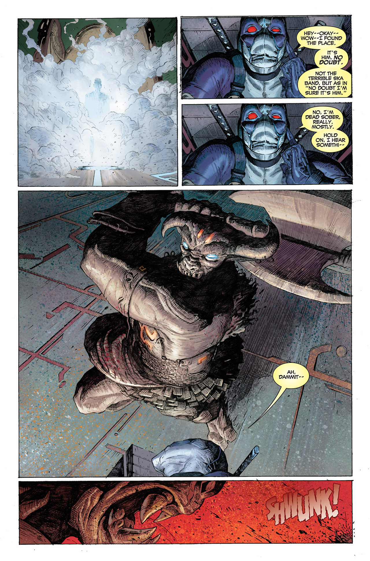 Read online Uncanny X-Force (2010) comic -  Issue #1 - 6