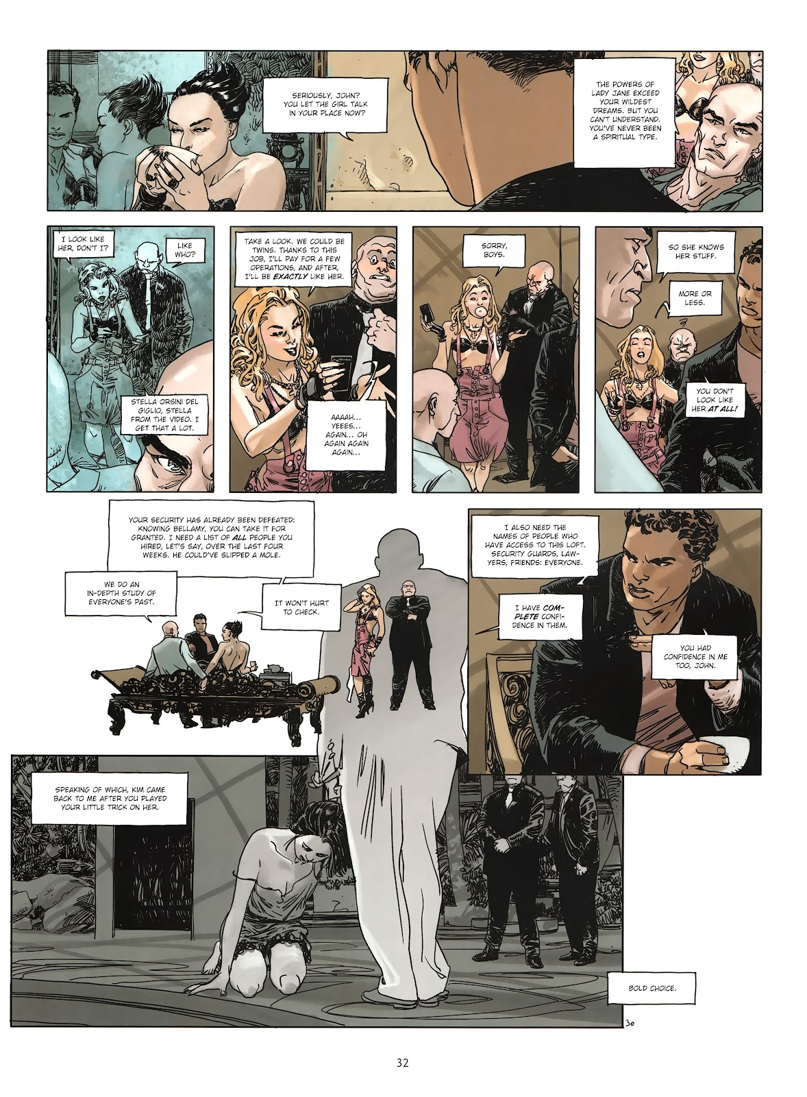 Read online Cutting Edge (2013) comic -  Issue #3 - 29
