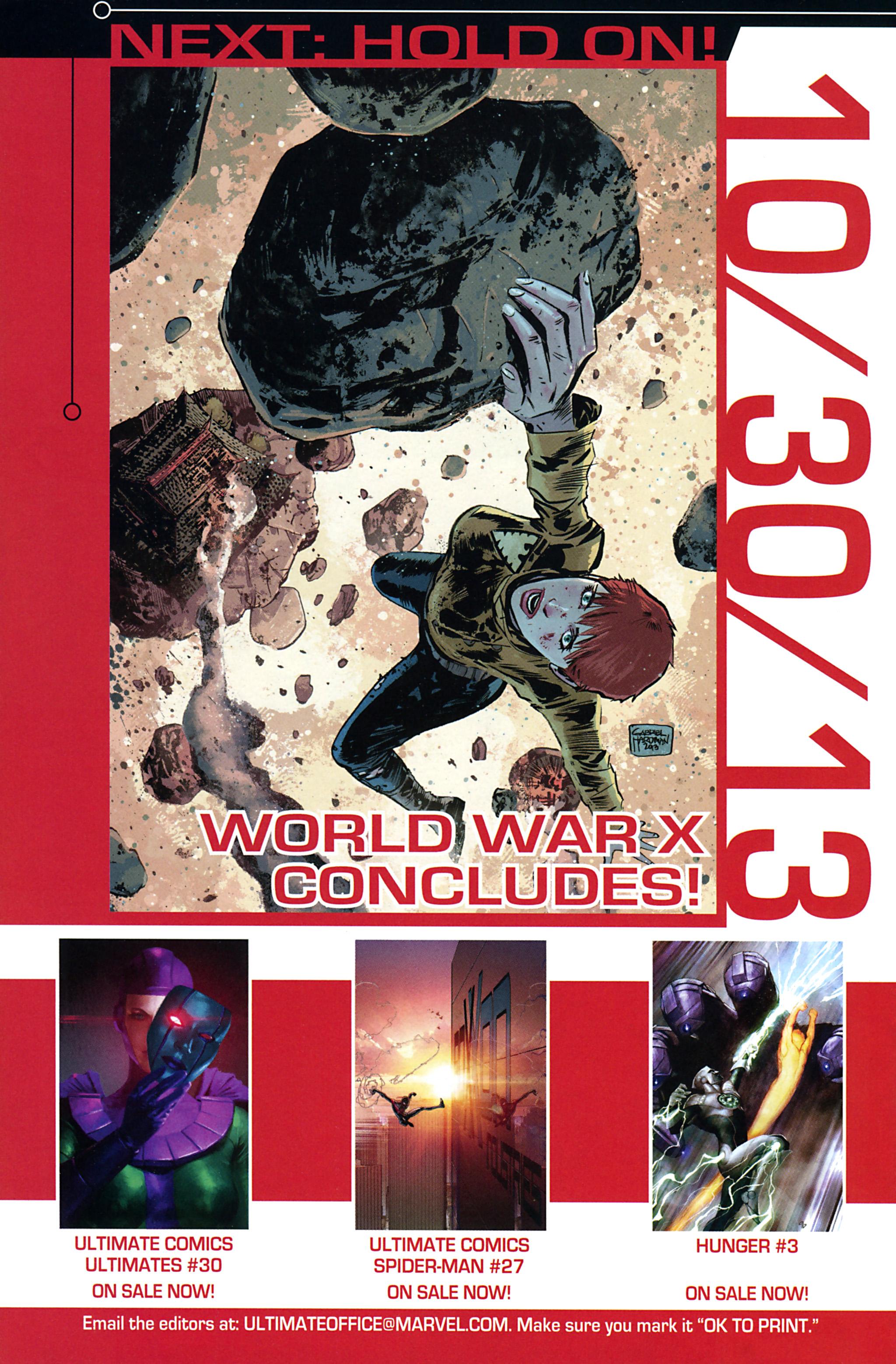 Read online Ultimate Comics X-Men comic -  Issue #32 - 24
