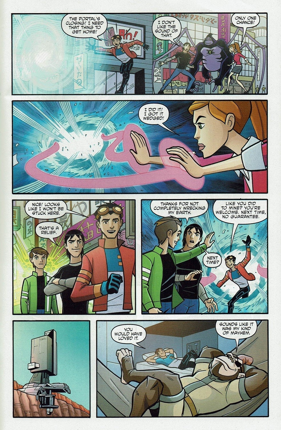 Read online Cartoon Network Action Pack comic -  Issue #65 - 31