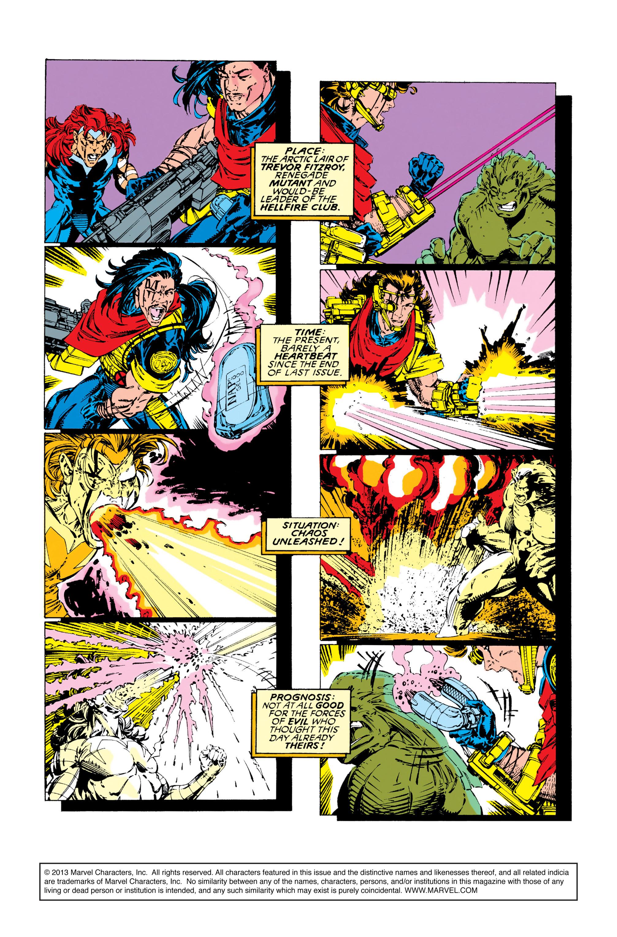 Read online Uncanny X-Men (1963) comic -  Issue #283 - 2