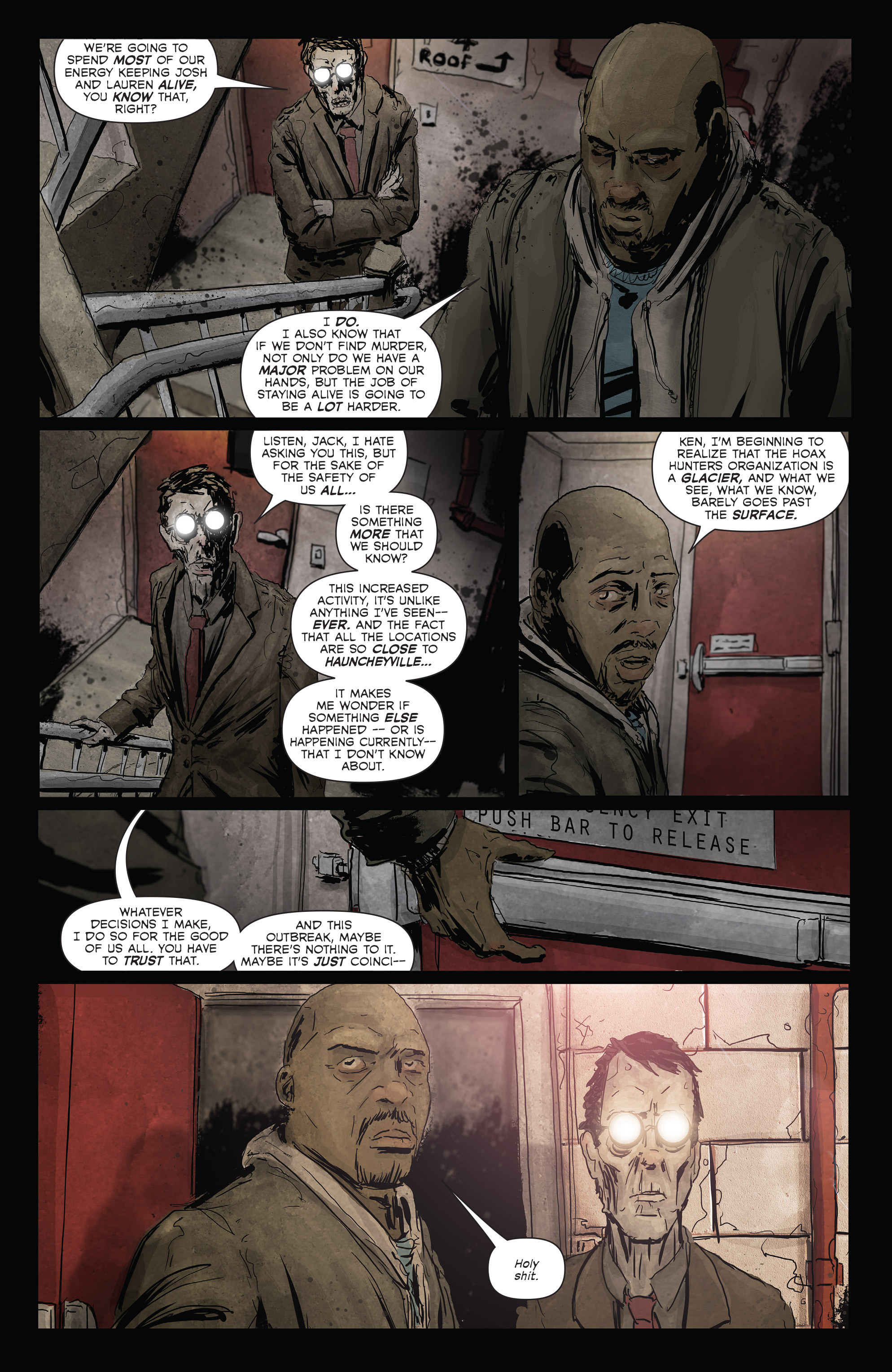 Read online Hoax Hunters (2012) comic -  Issue # TPB 3 - 22