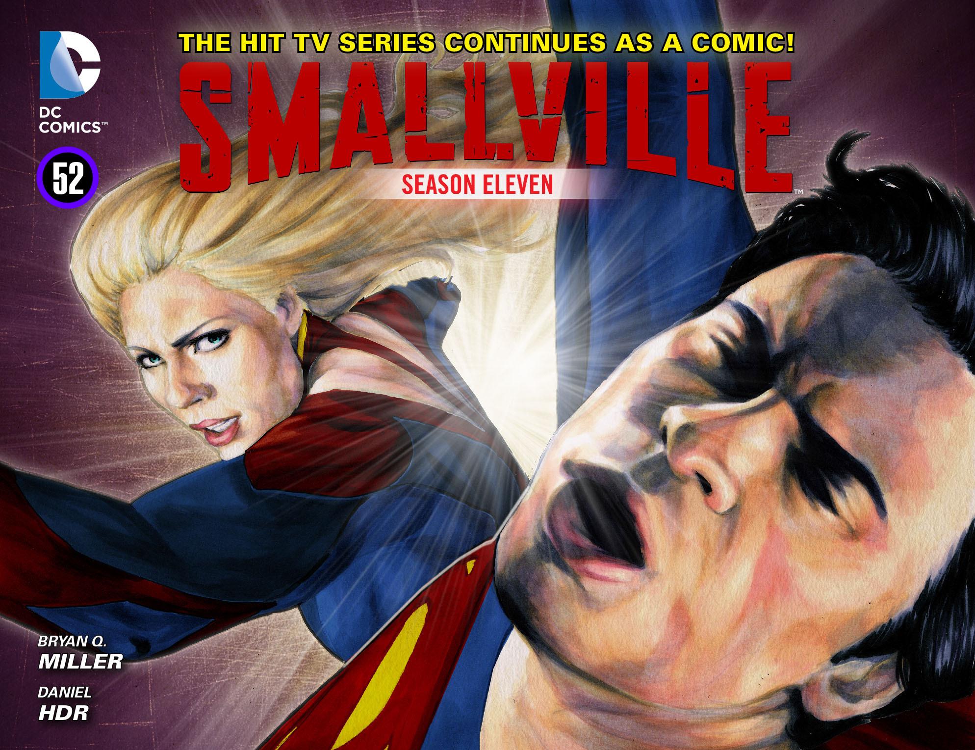 Read online Smallville: Season 11 comic -  Issue #52 - 1