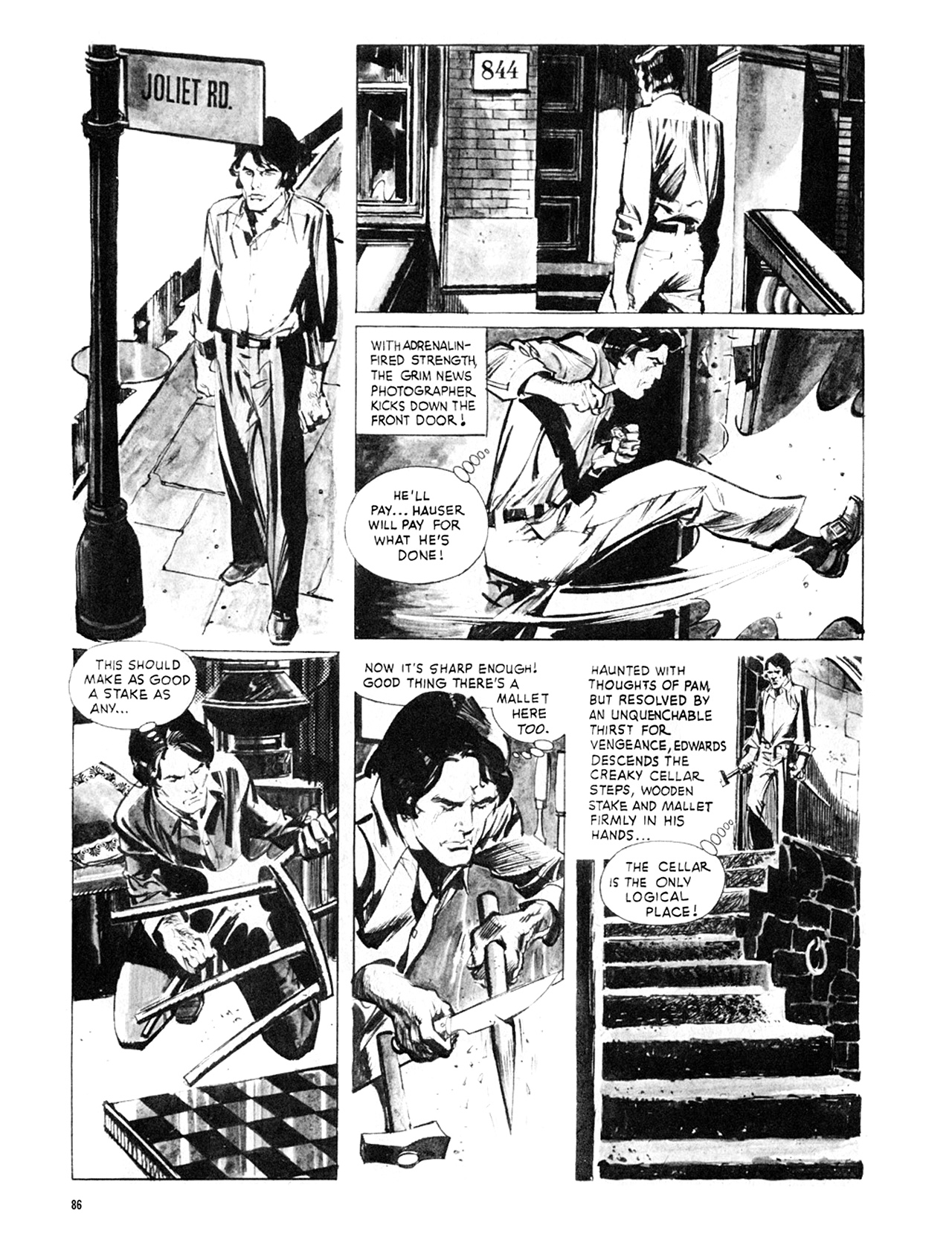 Read online Eerie Archives comic -  Issue # TPB 8 - 87
