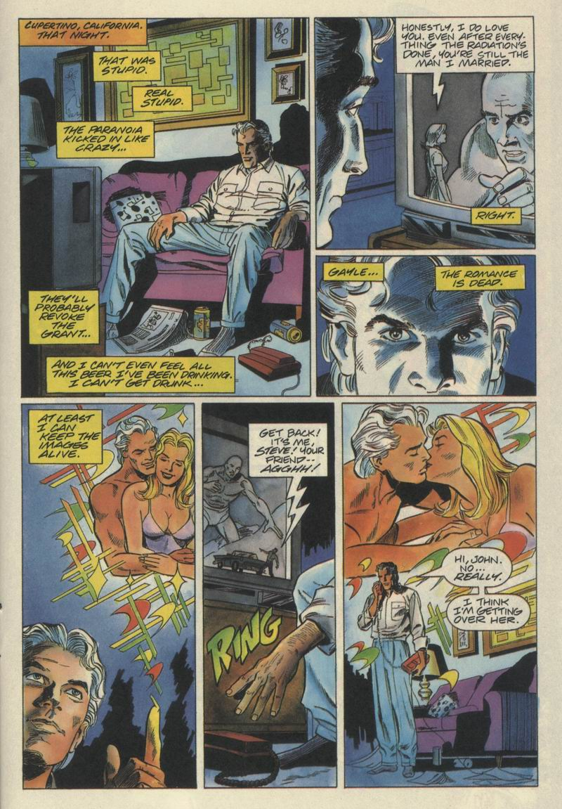 Read online Solar, Man of the Atom comic -  Issue #21 - 18