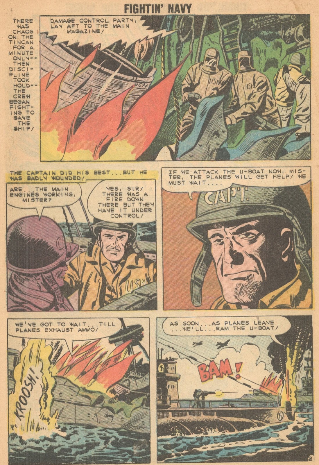 Read online Fightin' Navy comic -  Issue #90 - 4