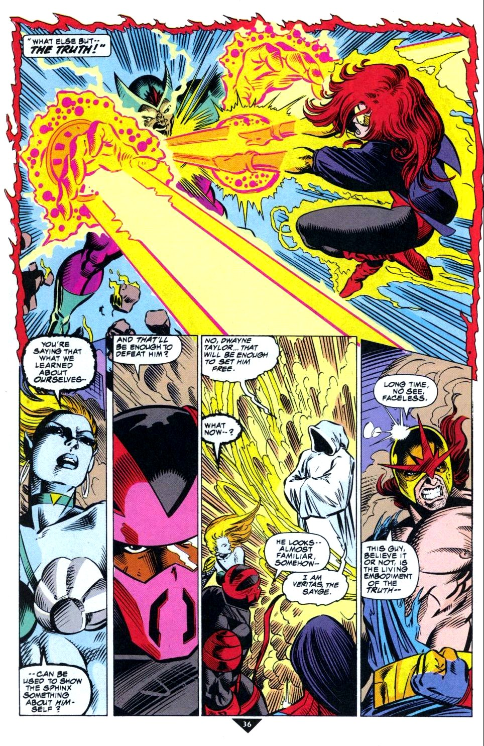 The New Warriors Issue #50 #54 - English 29