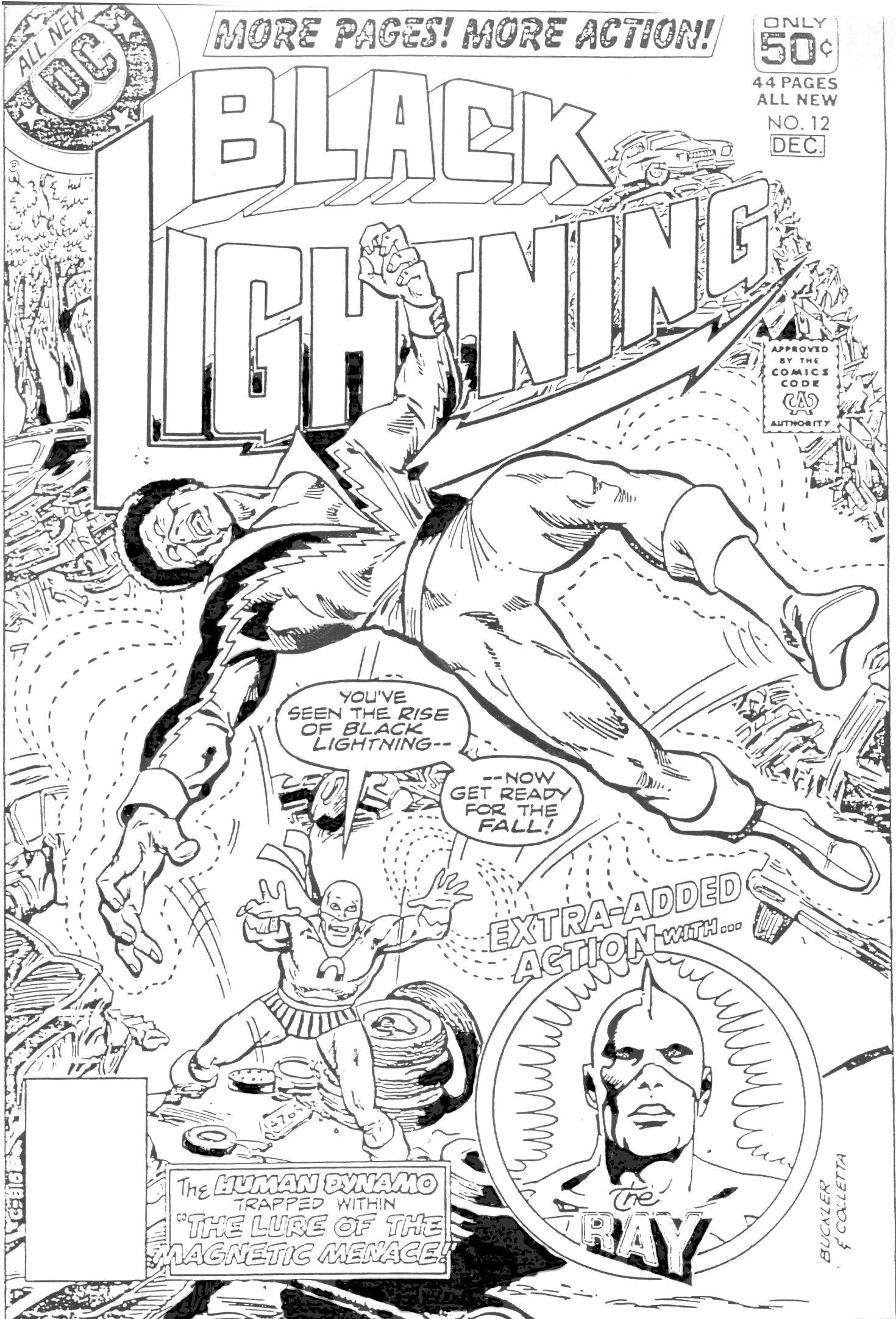 Black Lightning 12 Page 1