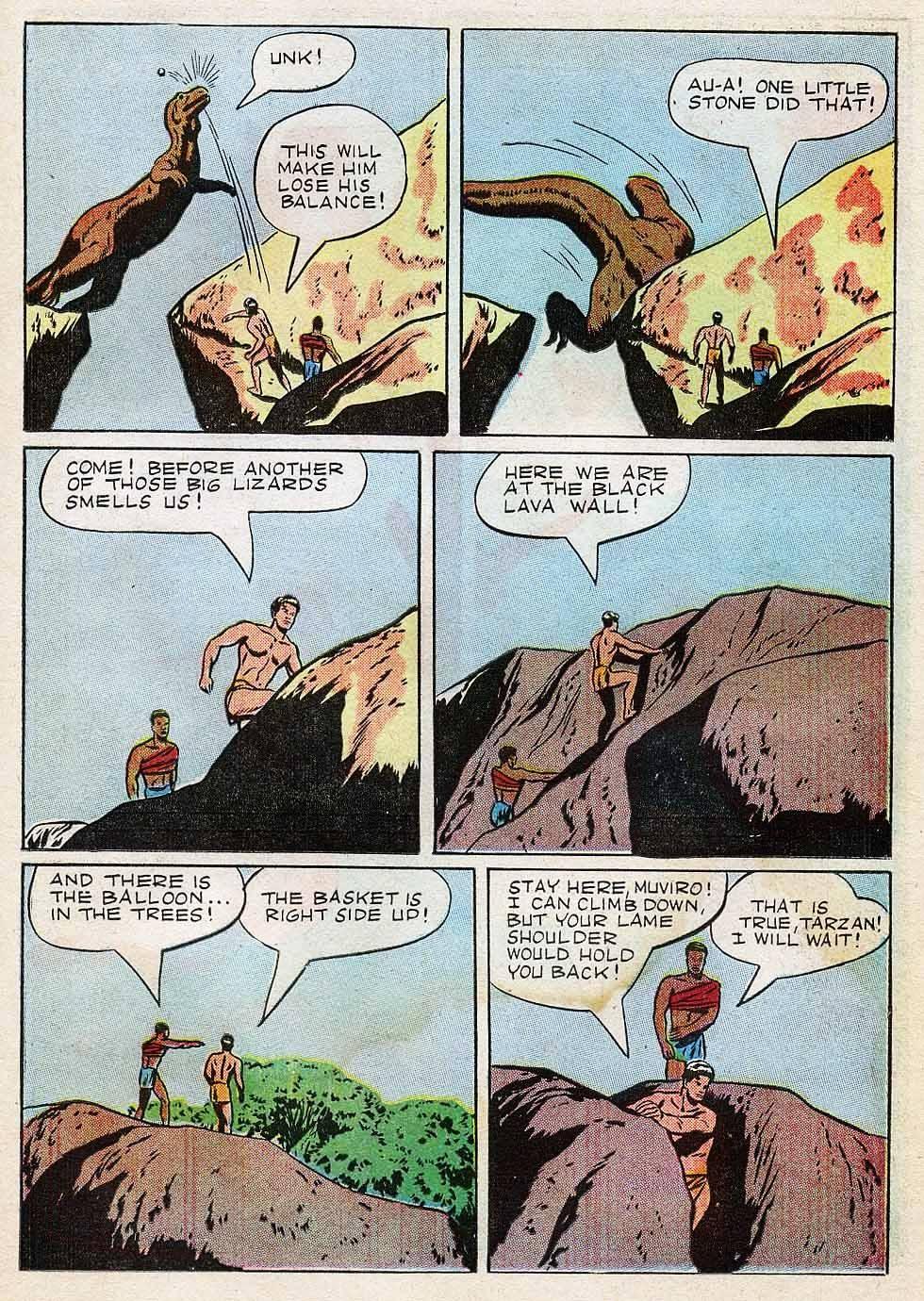 Tarzan (1948) issue 7 - Page 23