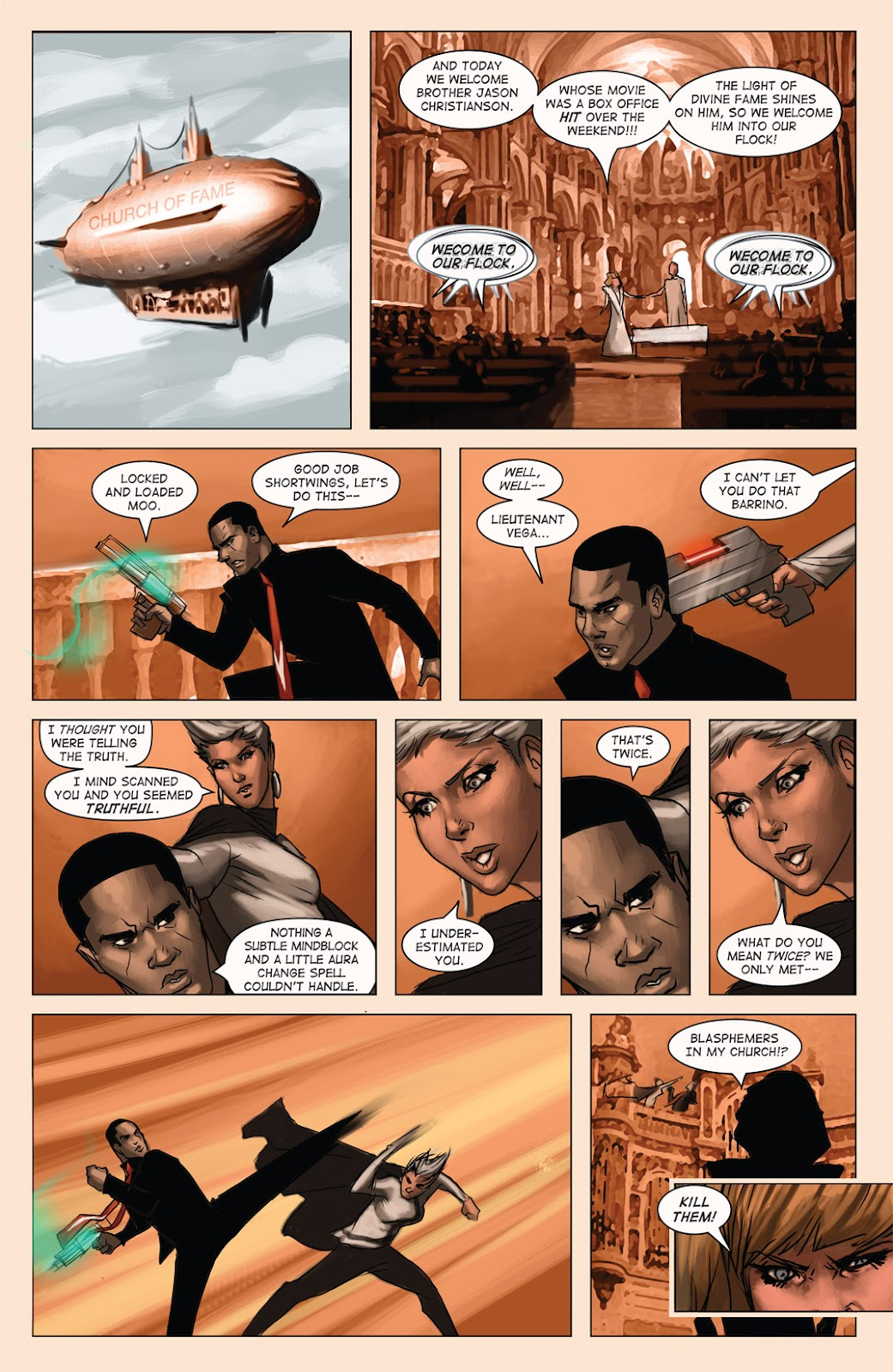 Read online Vescell comic -  Issue #4 - 27