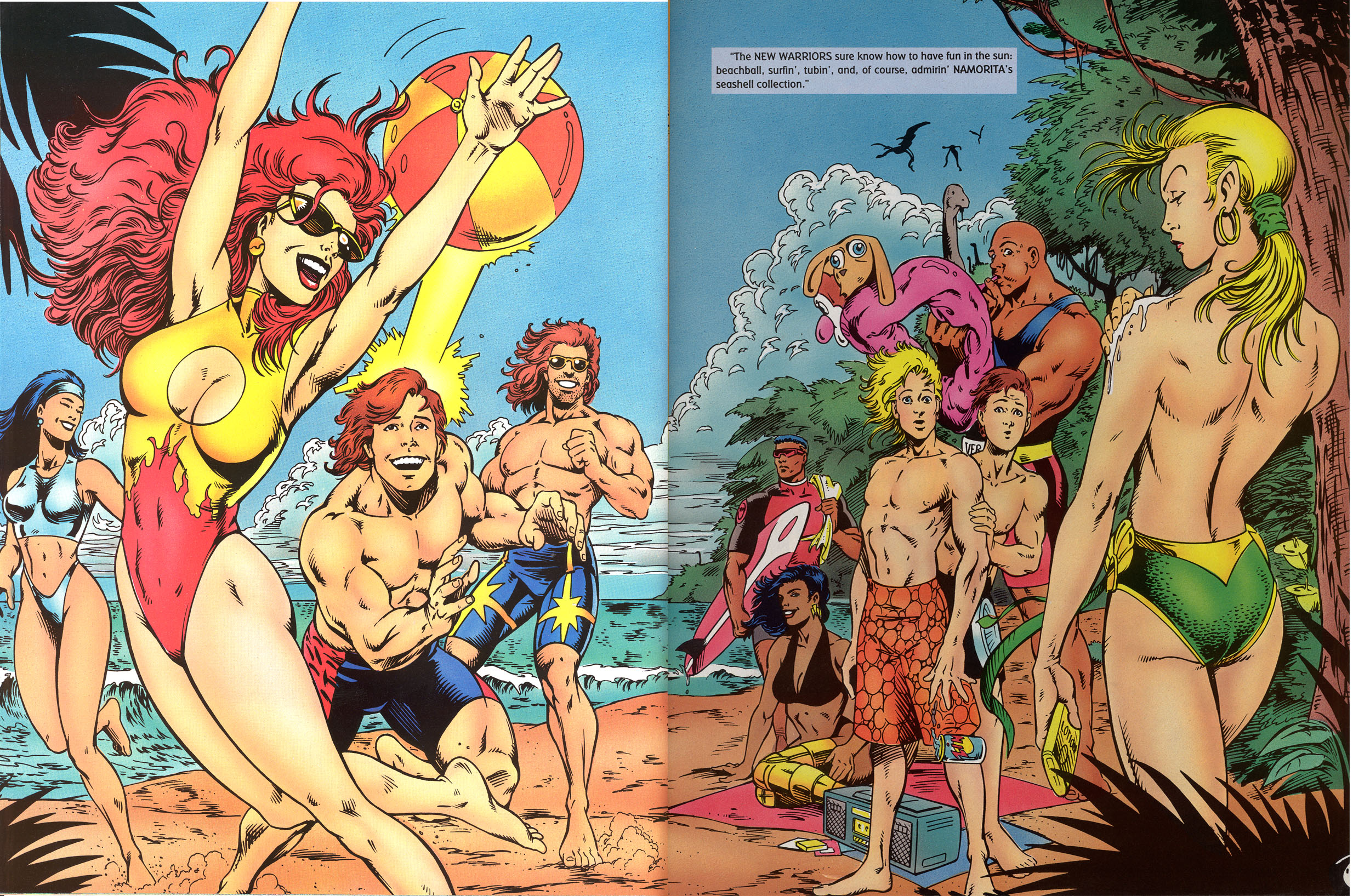 Read online Marvel Swimsuit Special comic -  Issue #2 - 15