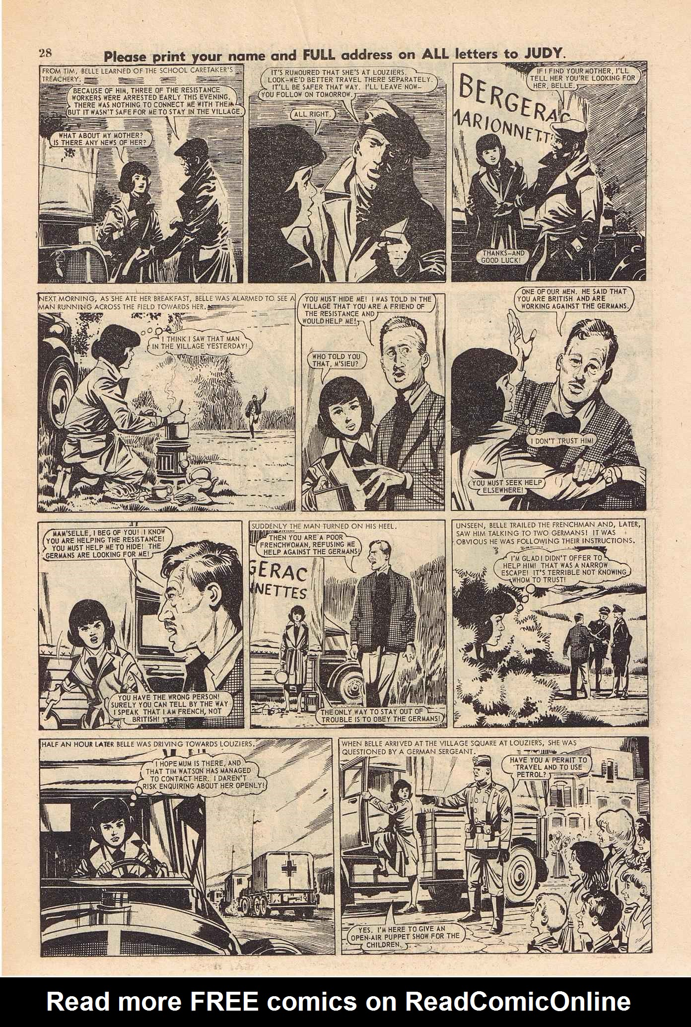 Read online Judy comic -  Issue #316 - 28