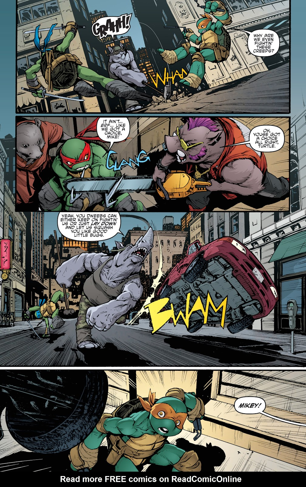 Read online Teenage Mutant Ninja Turtles: The IDW Collection comic -  Issue # TPB 5 (Part 2) - 49