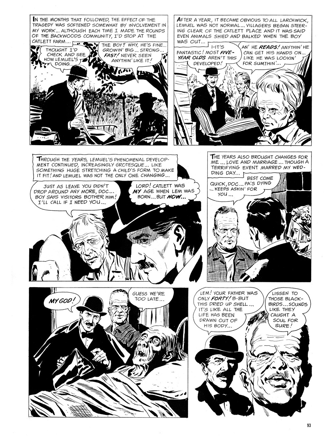 Read online Eerie Archives comic -  Issue # TPB 1 - 94