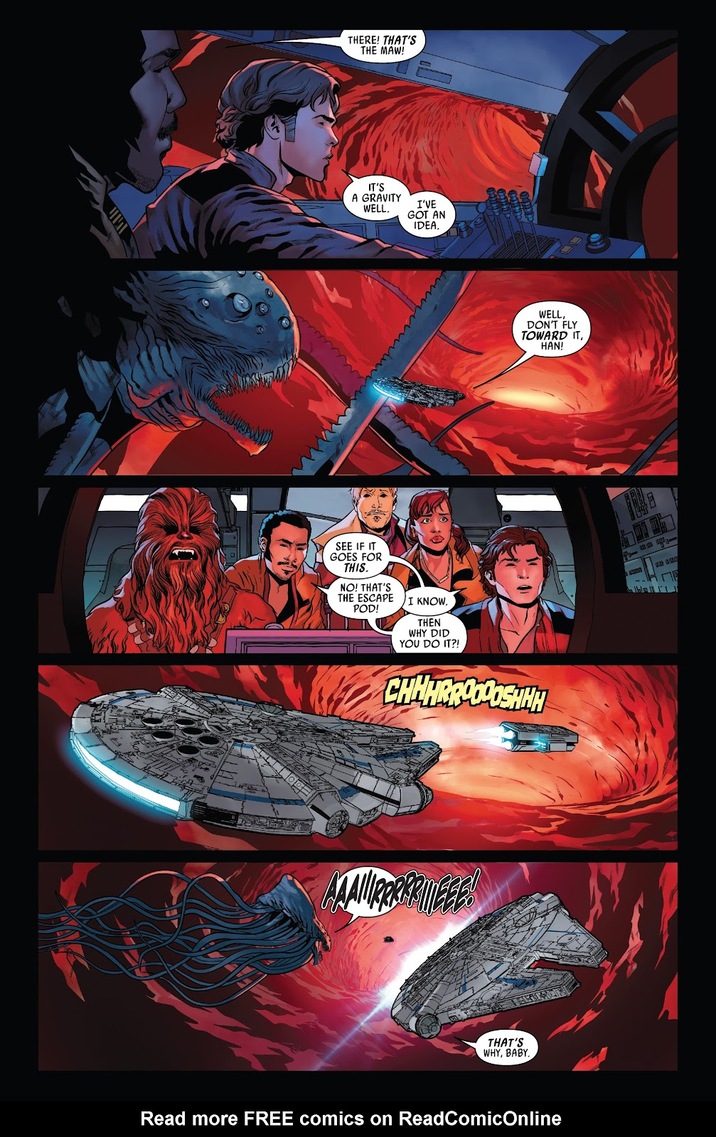 Read online Solo: A Star Wars Story Adaptation comic -  Issue #5 - 12