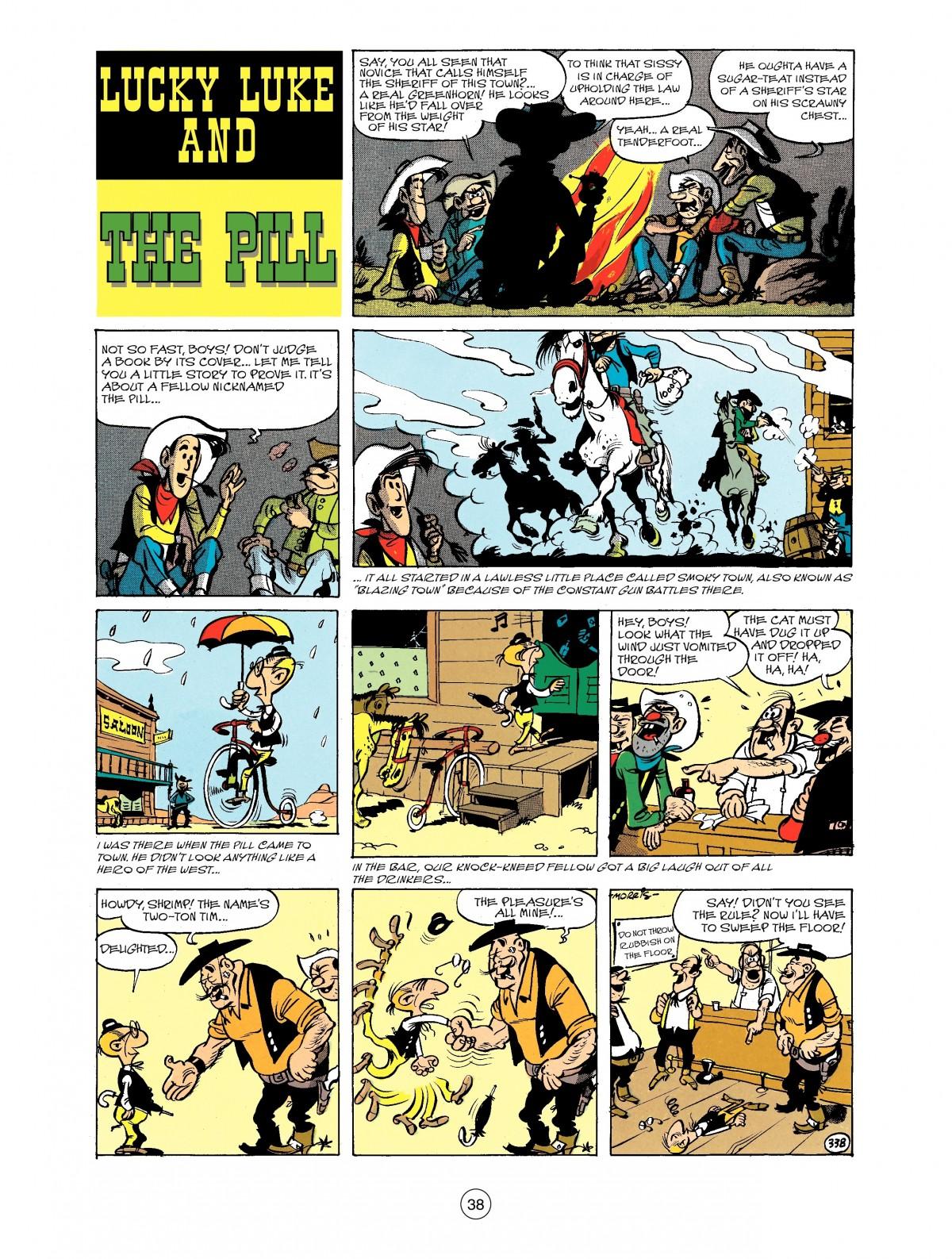 Read online A Lucky Luke Adventure comic -  Issue #40 - 38