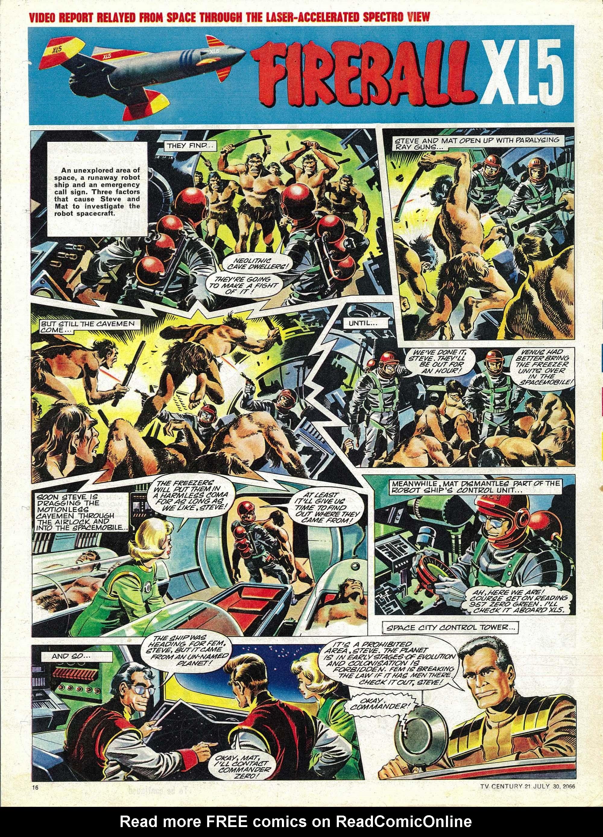 Read online TV Century 21 (TV 21) comic -  Issue #80 - 15