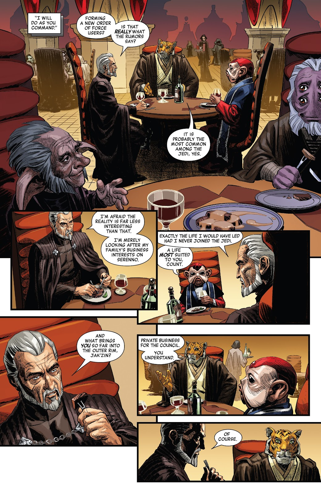 Read online Star Wars: Age of Republic - Count Dooku comic -  Issue # Full - 11