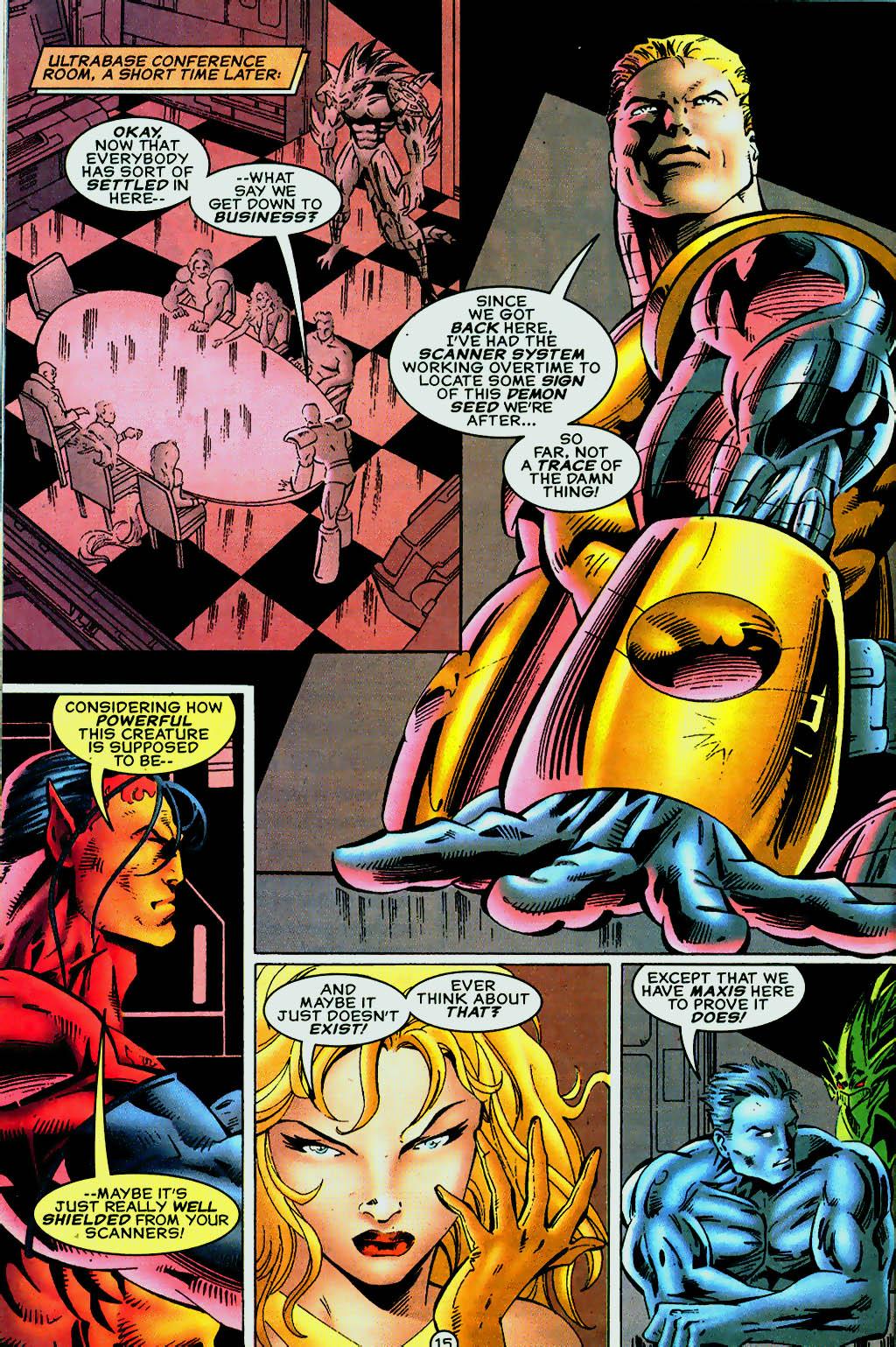 Read online UltraForce (1995) comic -  Issue #13 - 16