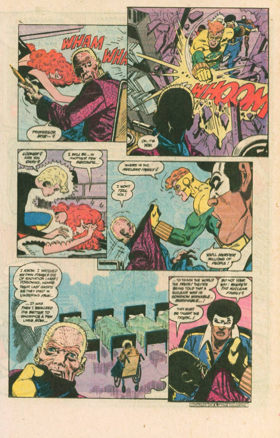 Read online Adventures of the Outsiders comic -  Issue #40 - 14