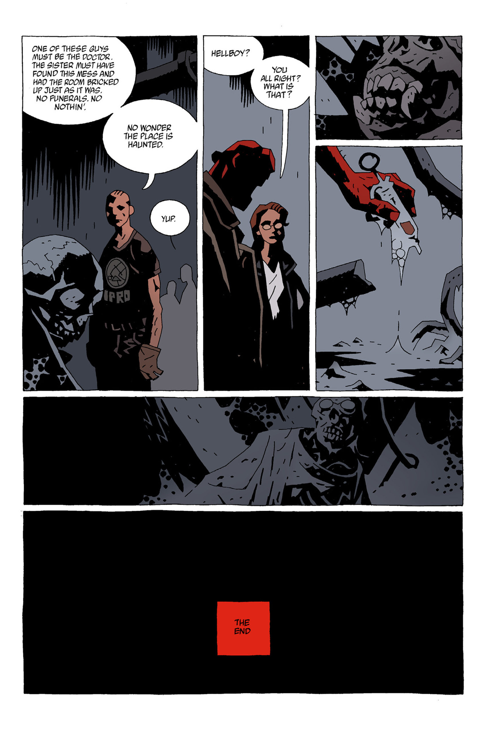 Read online Hellboy: The Troll Witch and Others comic -  Issue # TPB - 68