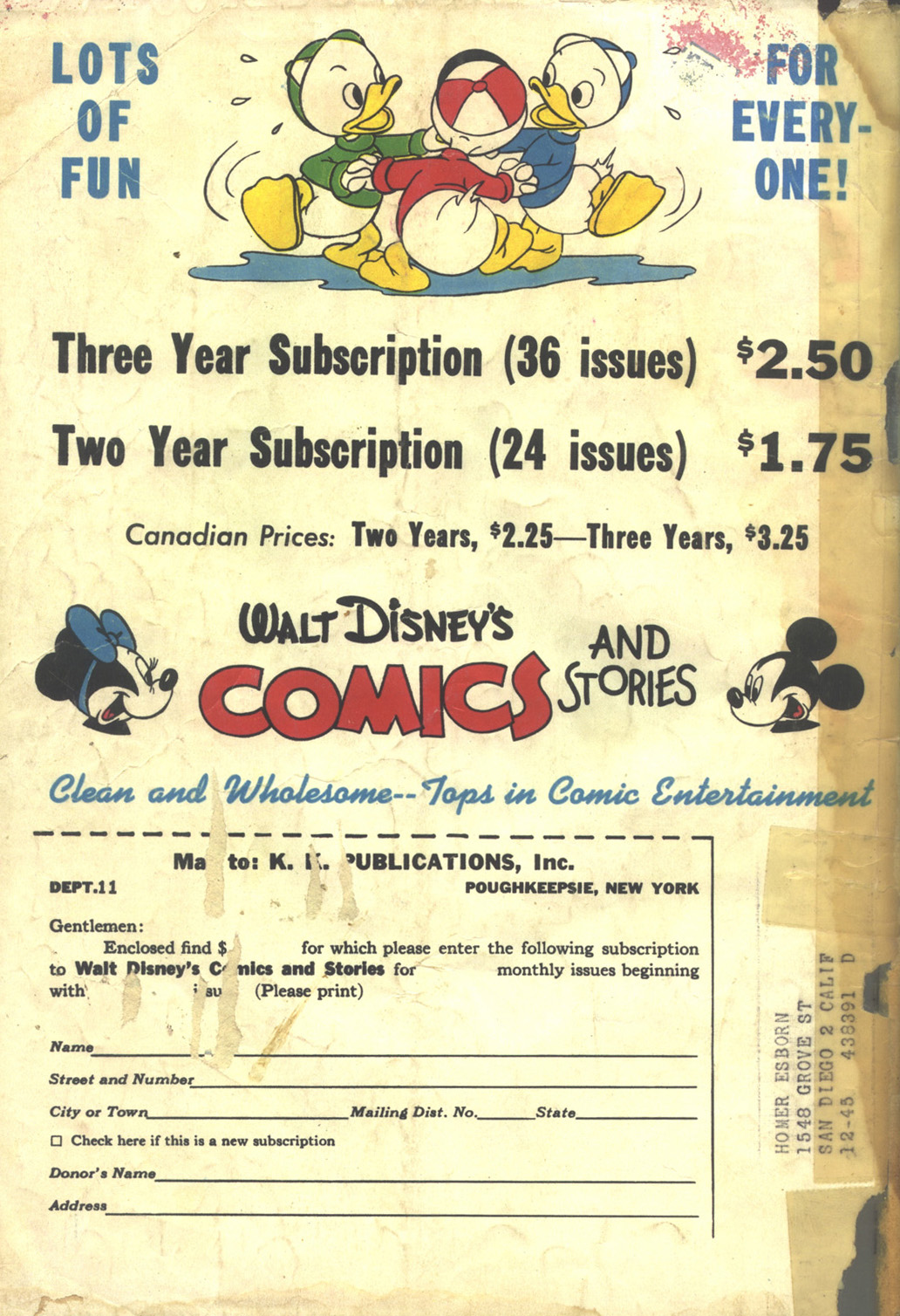 Walt Disney's Comics and Stories issue 62 - Page 52