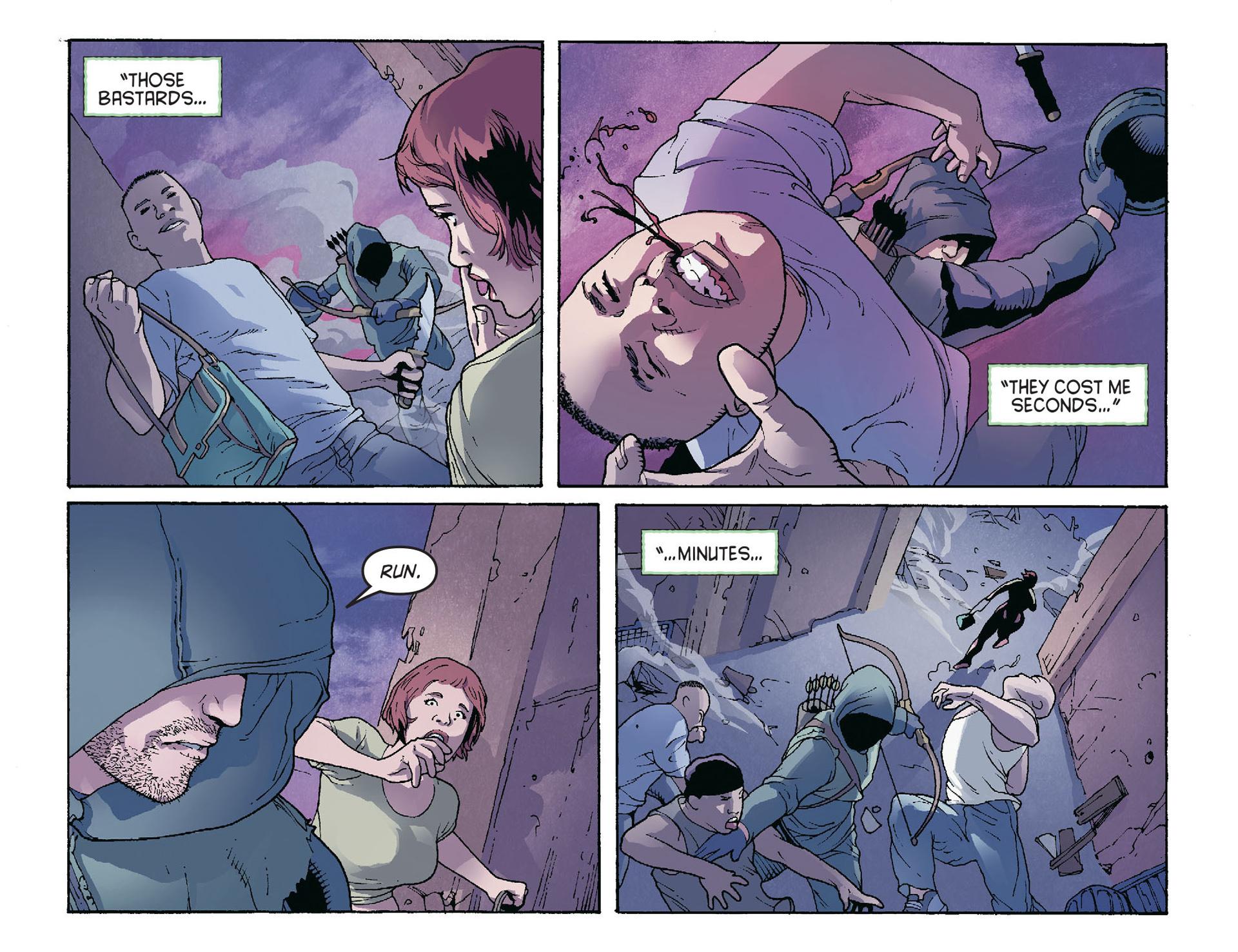 Read online Arrow [II] comic -  Issue #36 - 17
