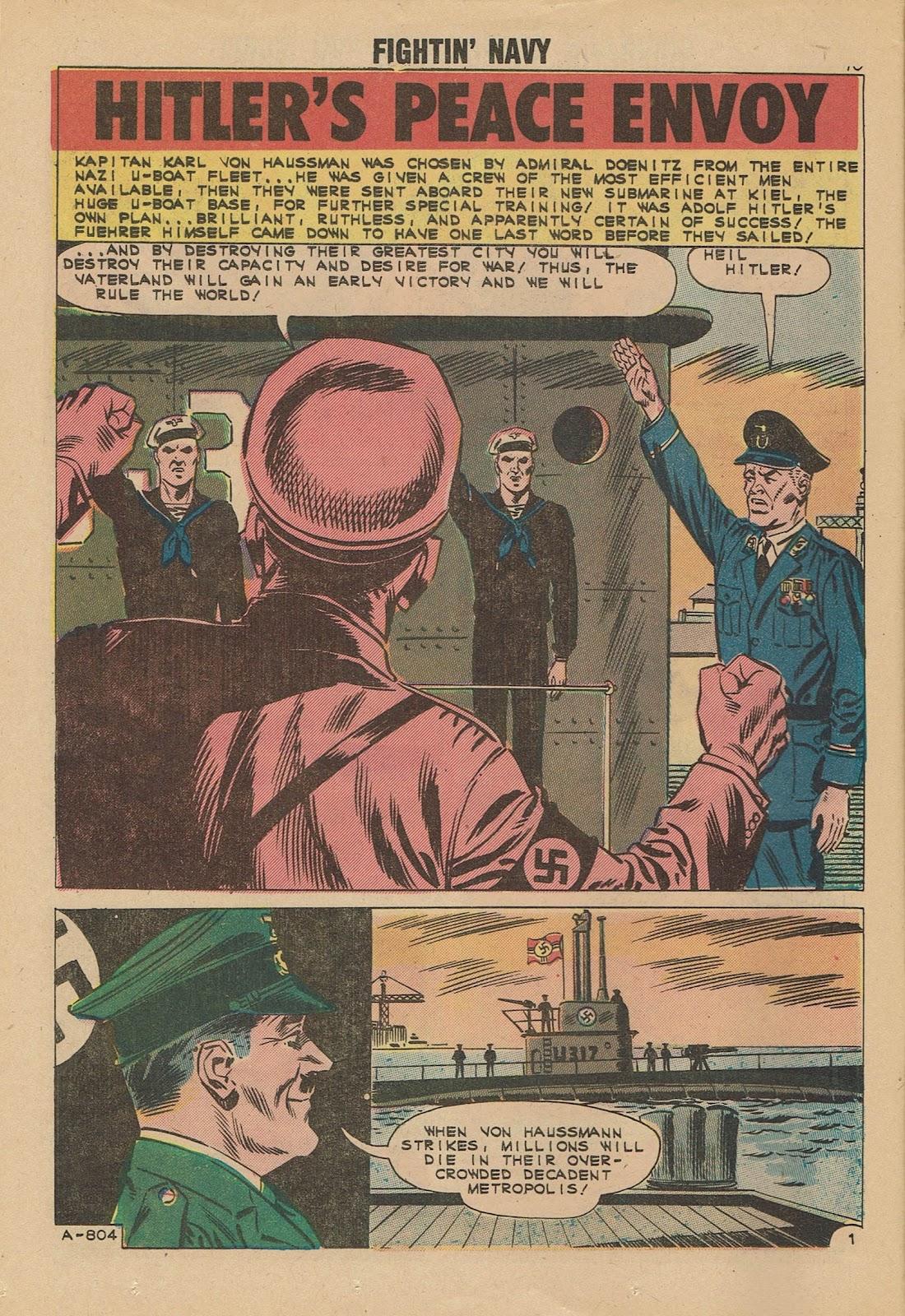 Read online Fightin' Navy comic -  Issue #101 - 12
